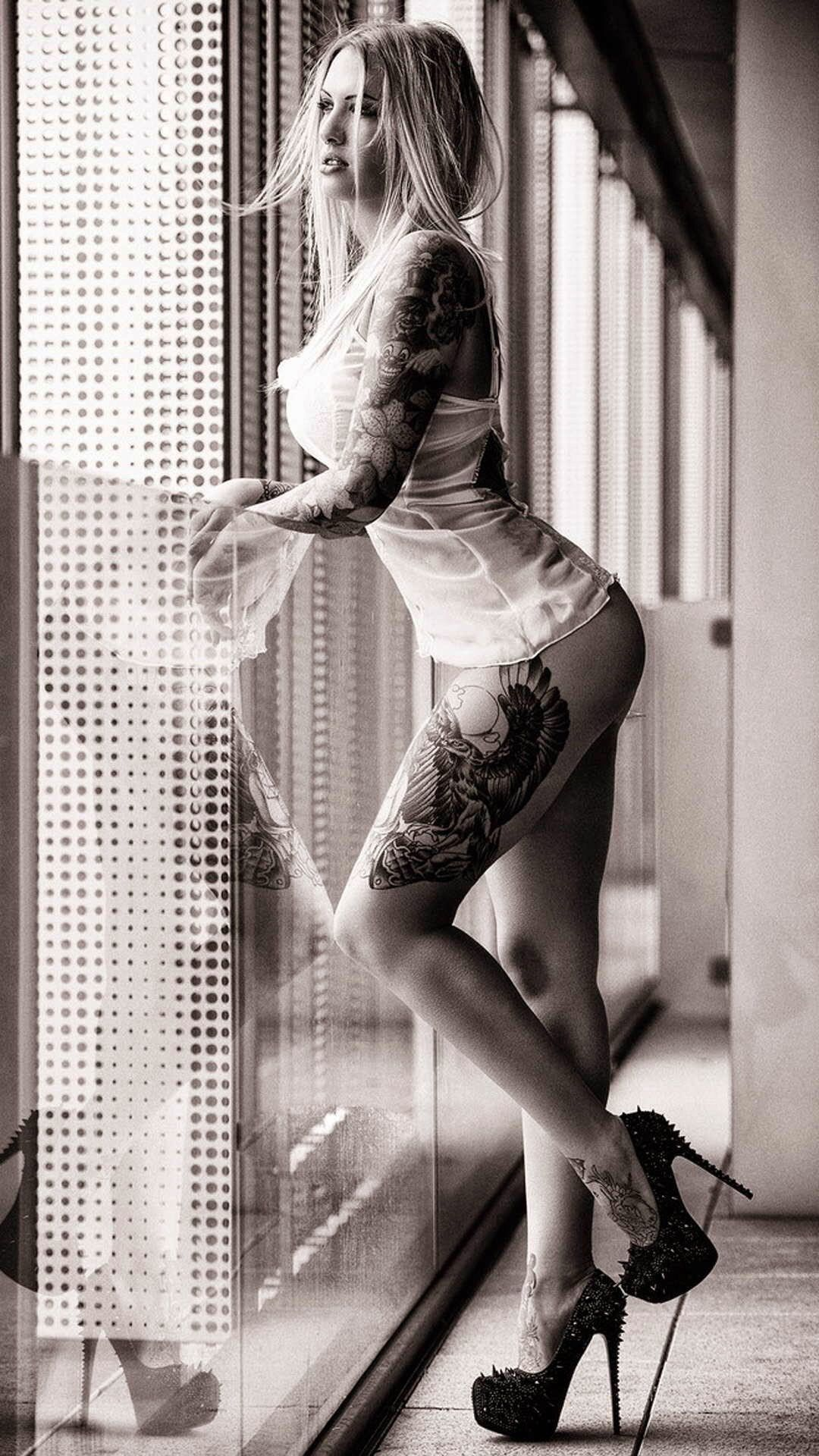 Tattoo Girl Wallpaper Hd Iphone Group , Hd Wallpapers Inked Girls, Pin