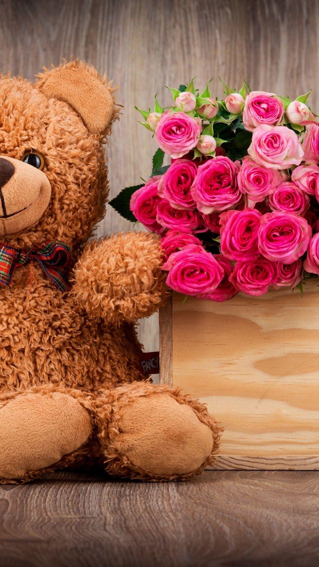 Teddy Bear Giant Wallpaper Iphone