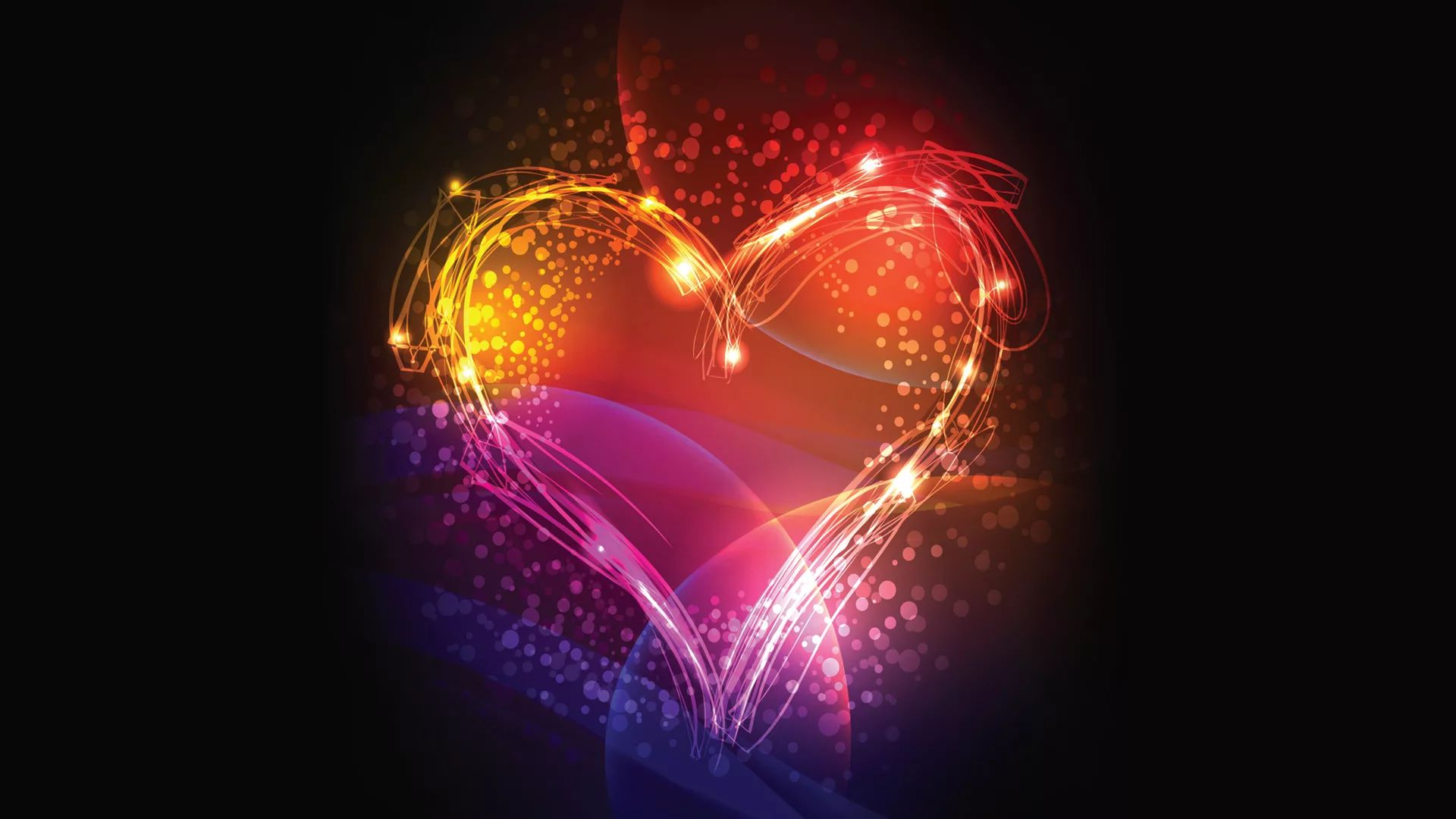The Neon Hearts Wallpapers And Pictures Free Download