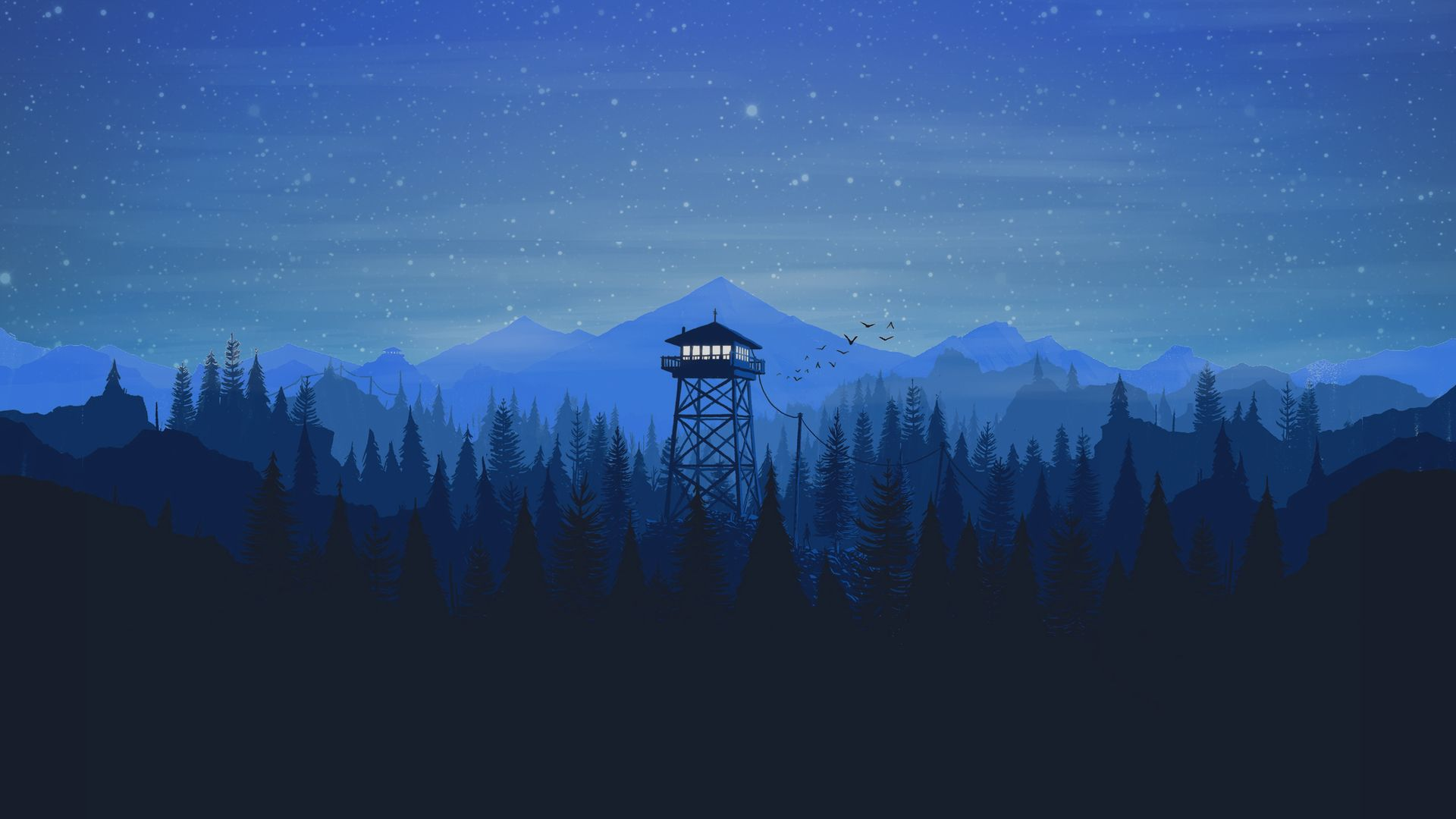 The Wallpaper Of Iphone Firewatch, Firewatch Pictures