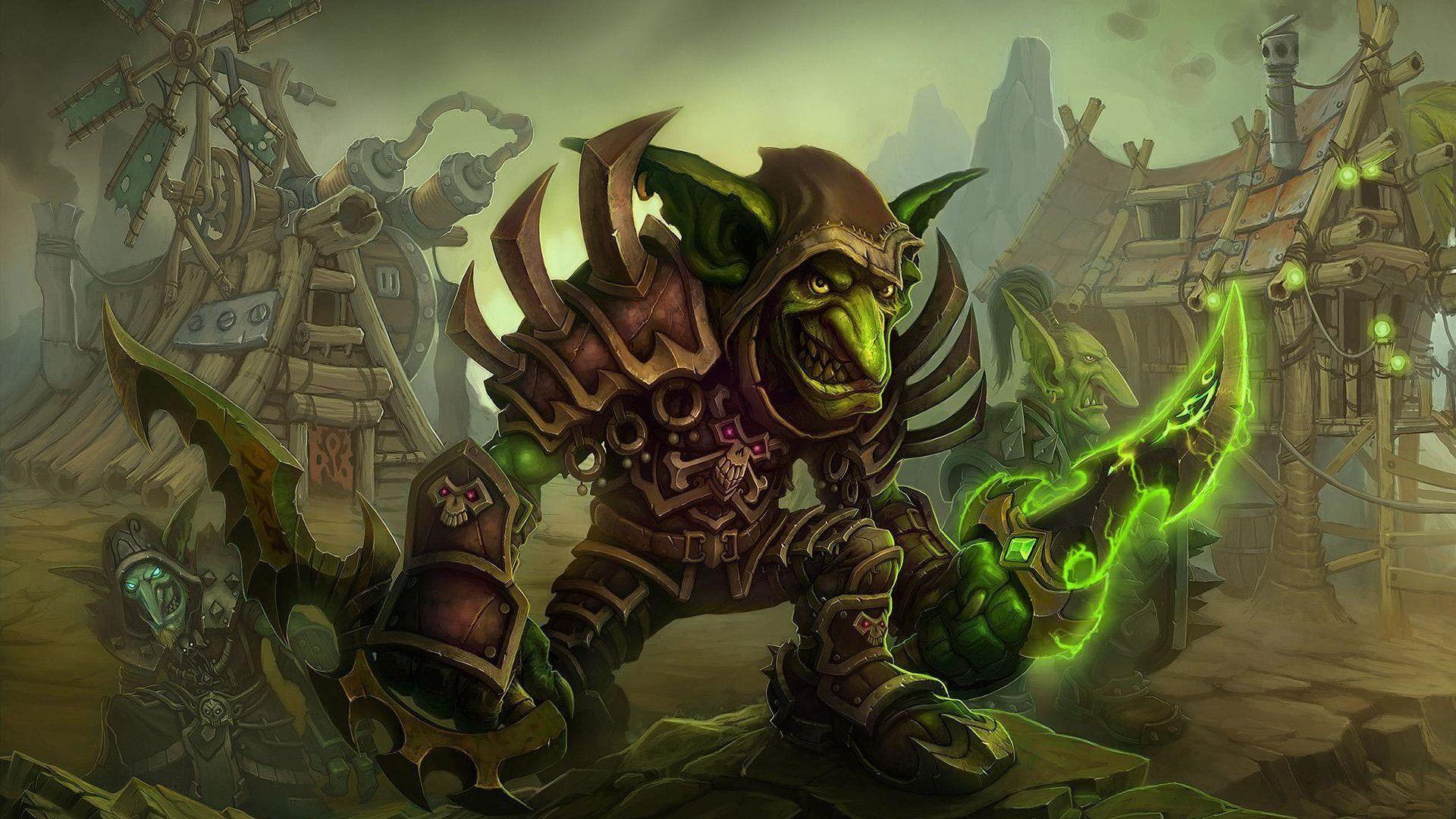 The Village Wallpaper, World Of Warcraft, Goblin, Cataclysm, Village, World Of Warcraft