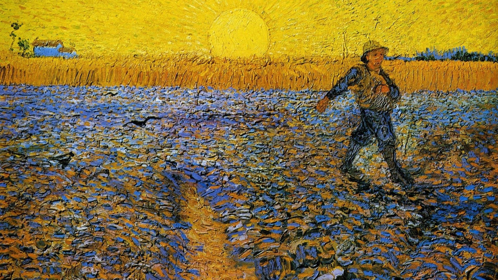 Van Gogh, Postimpressionism, Vincent, Van Gogh, Van Gogh The Sower Artwor