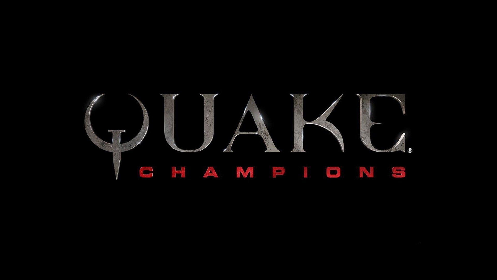 Video Games Quake Quake Champions Logo Wallpaper