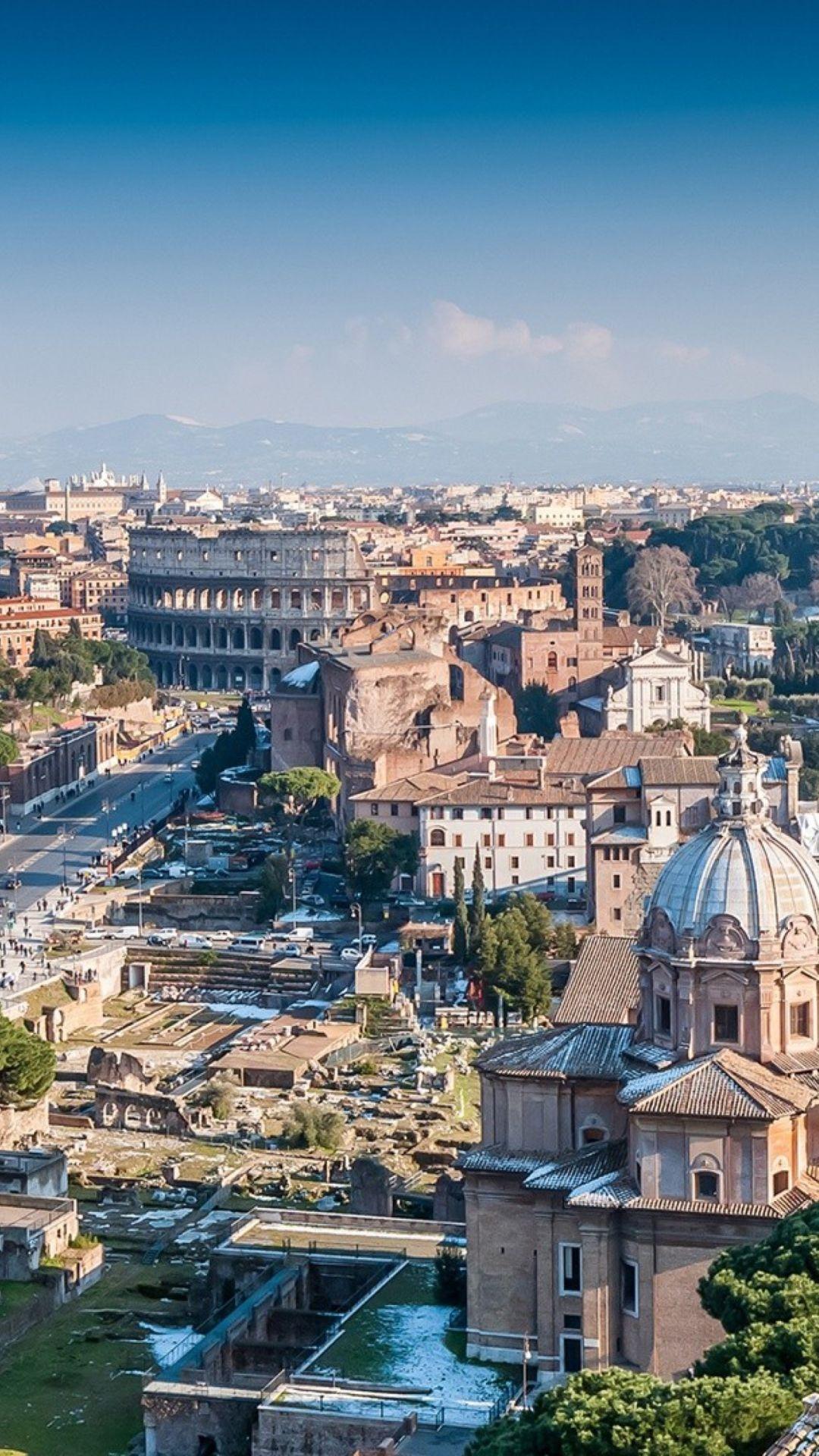 Wallpaper Cityscapes Roma