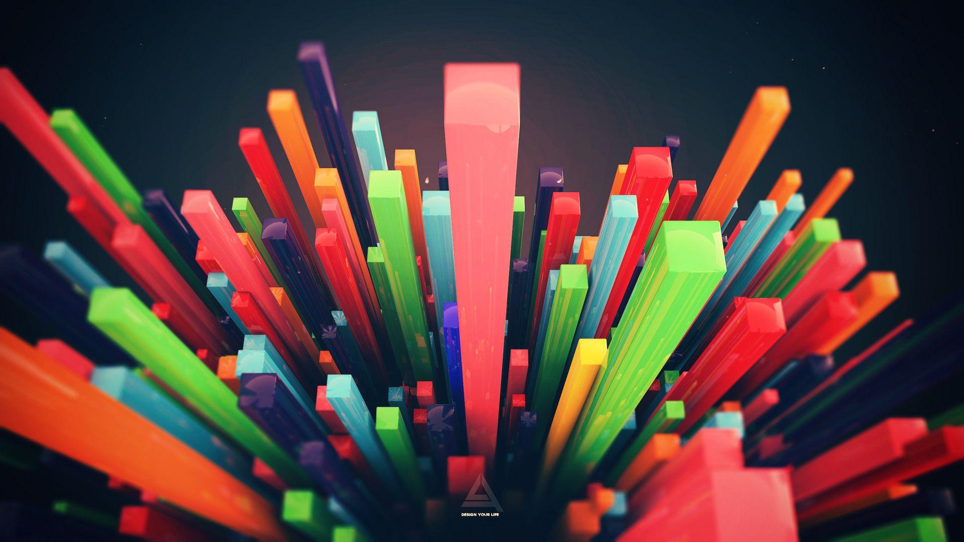Wallpaper Desktop Abstract, Hd 3d