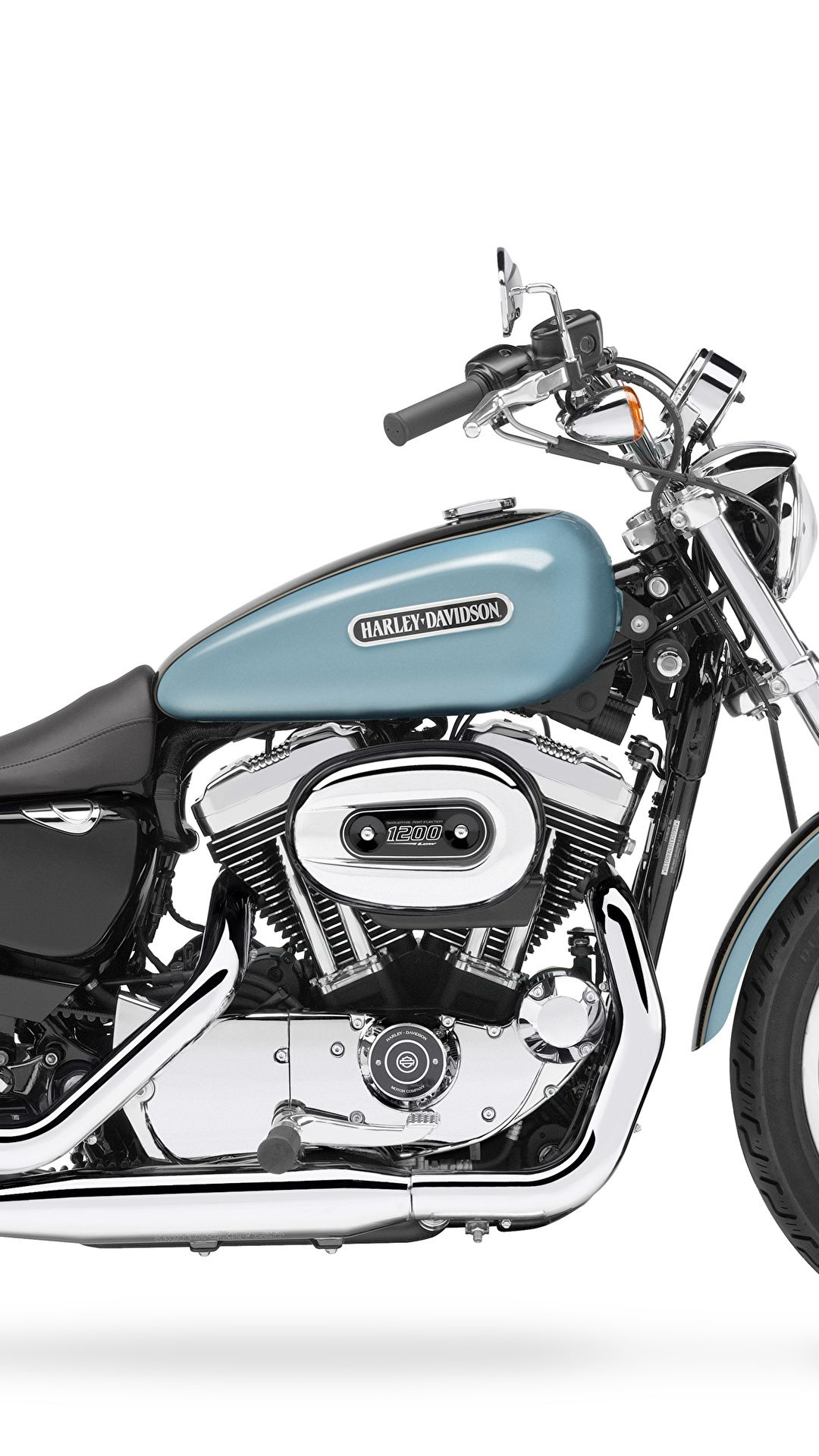 Wallpaper Harleydavidson Sportster Low Xll Motorcycles On The Side Of White Background