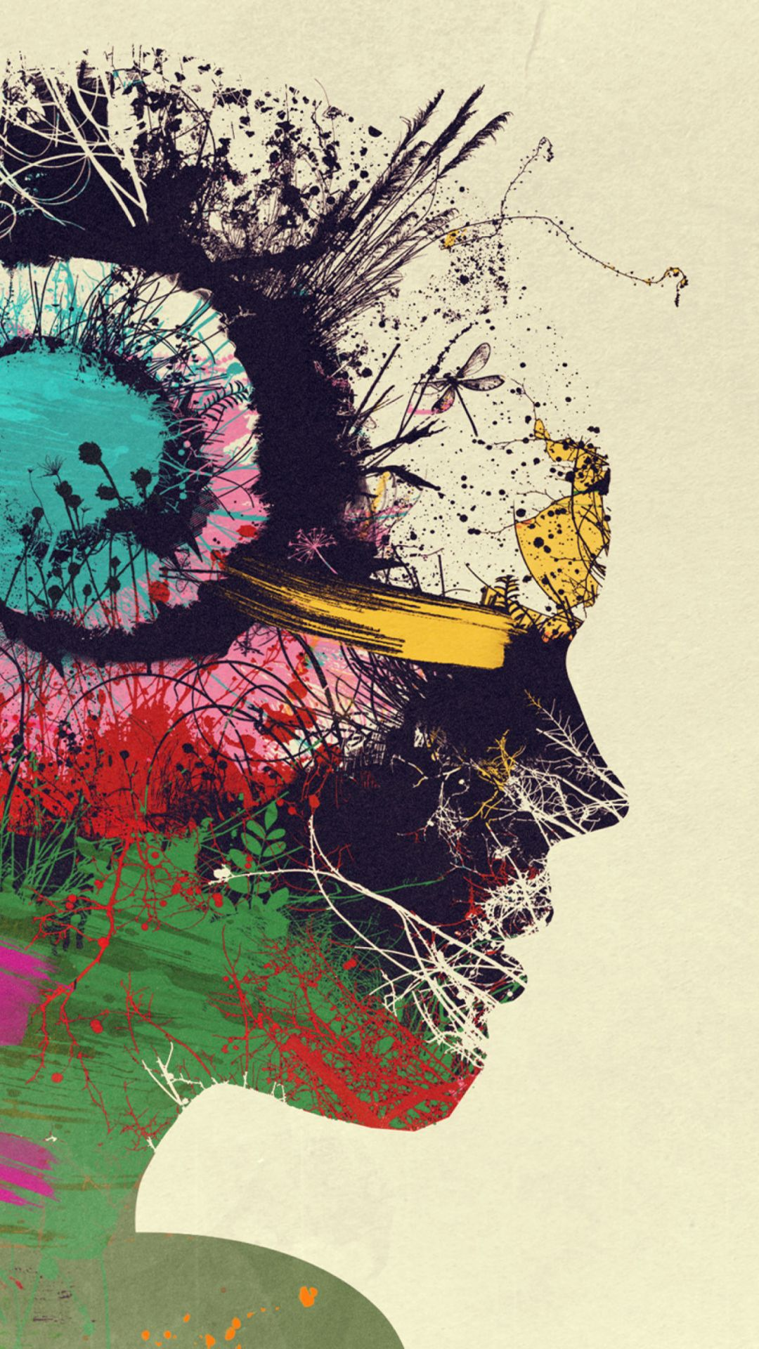 Wallpaper Psychedelic On