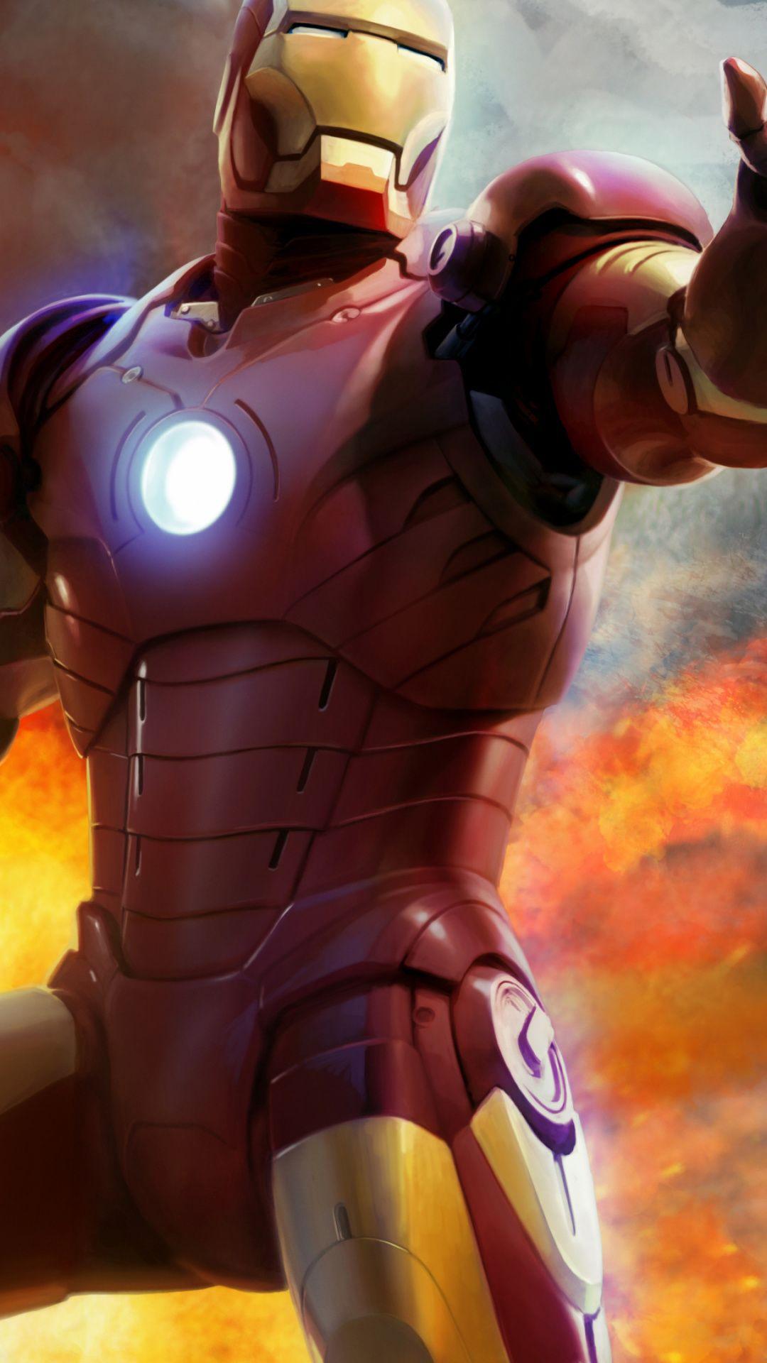 Wallpaper Figure, Superhero, Video Game, Iron Man Phone An