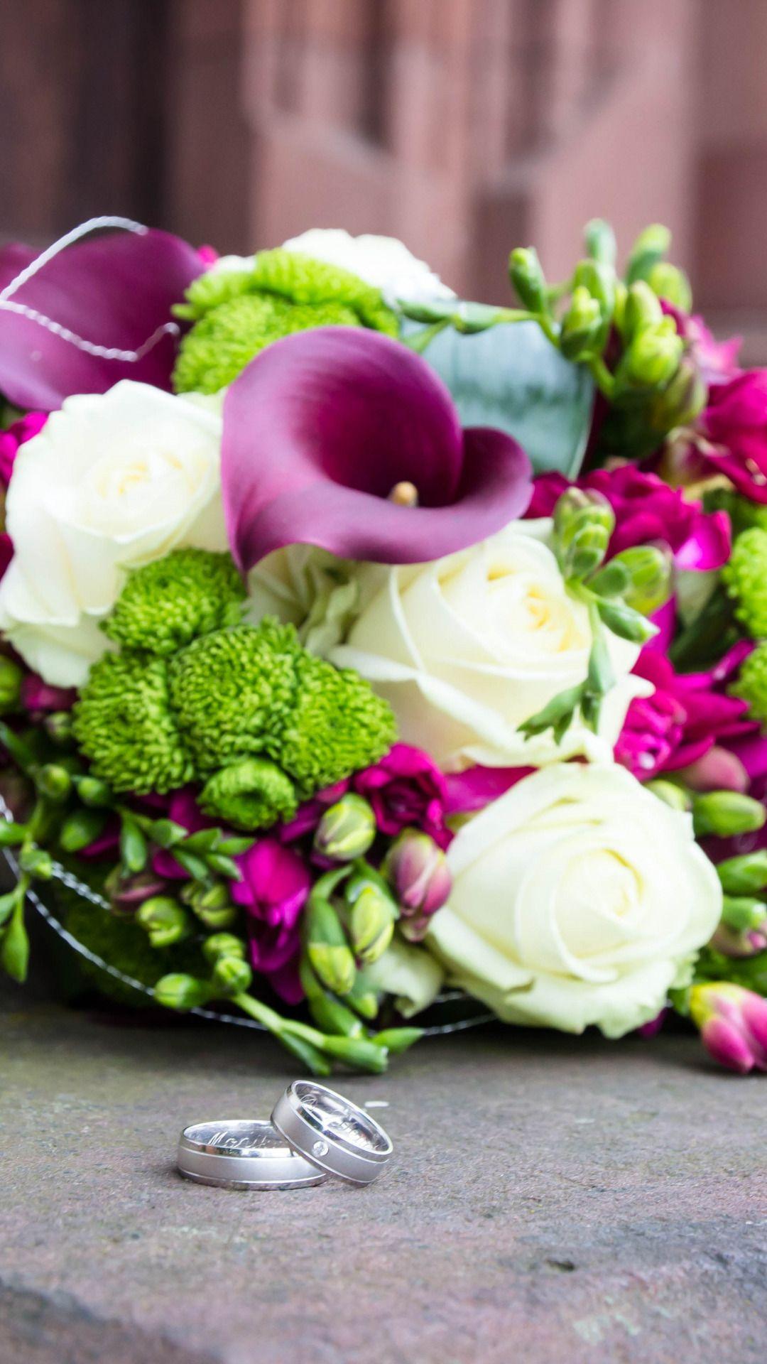 Wallpapers For Desktop Flowers, Roses, Bouquet, Rings, Wedding, Flowers, Rose