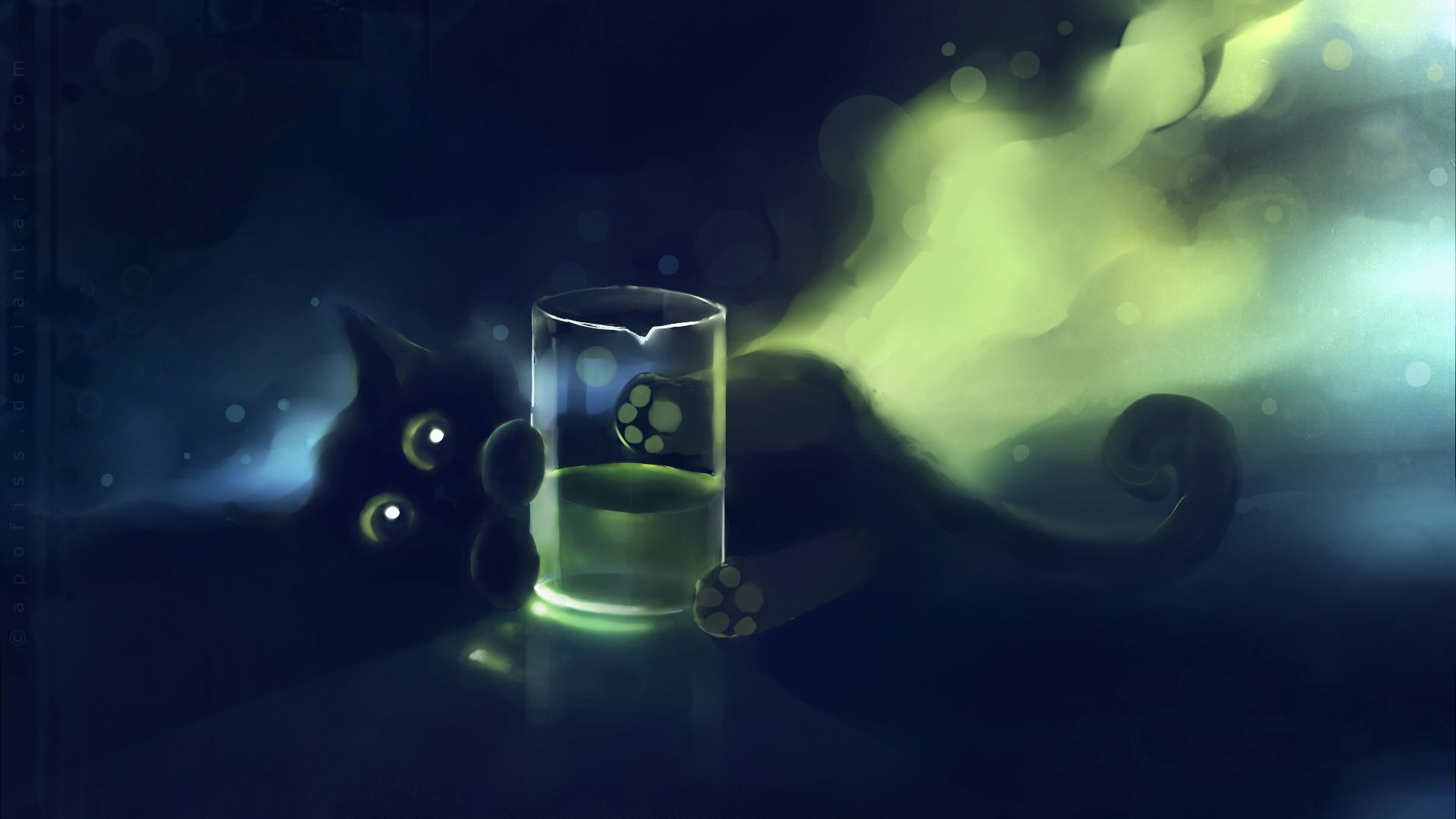 Cat, Black Cat, Deviantart, Artwork, Kittens View