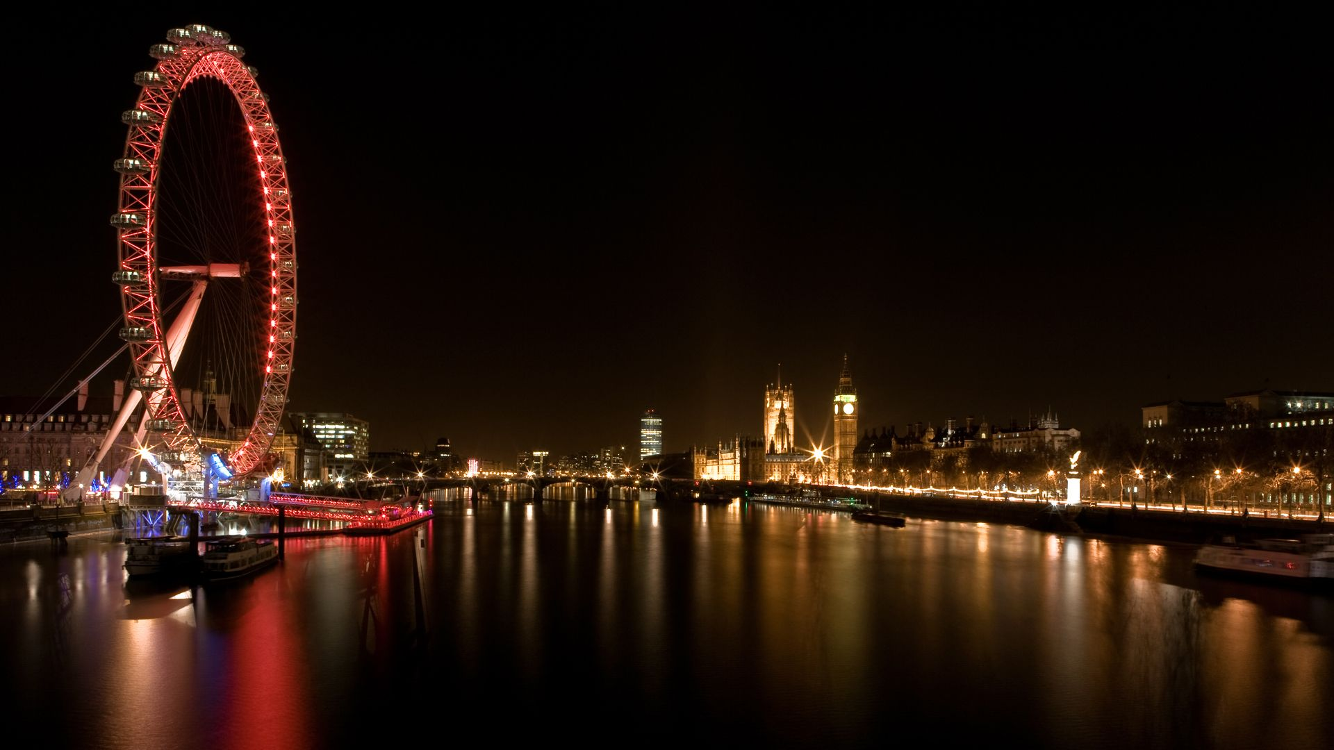 Cityscapes, London, Buildings, London Eye Desktop Wallpaper