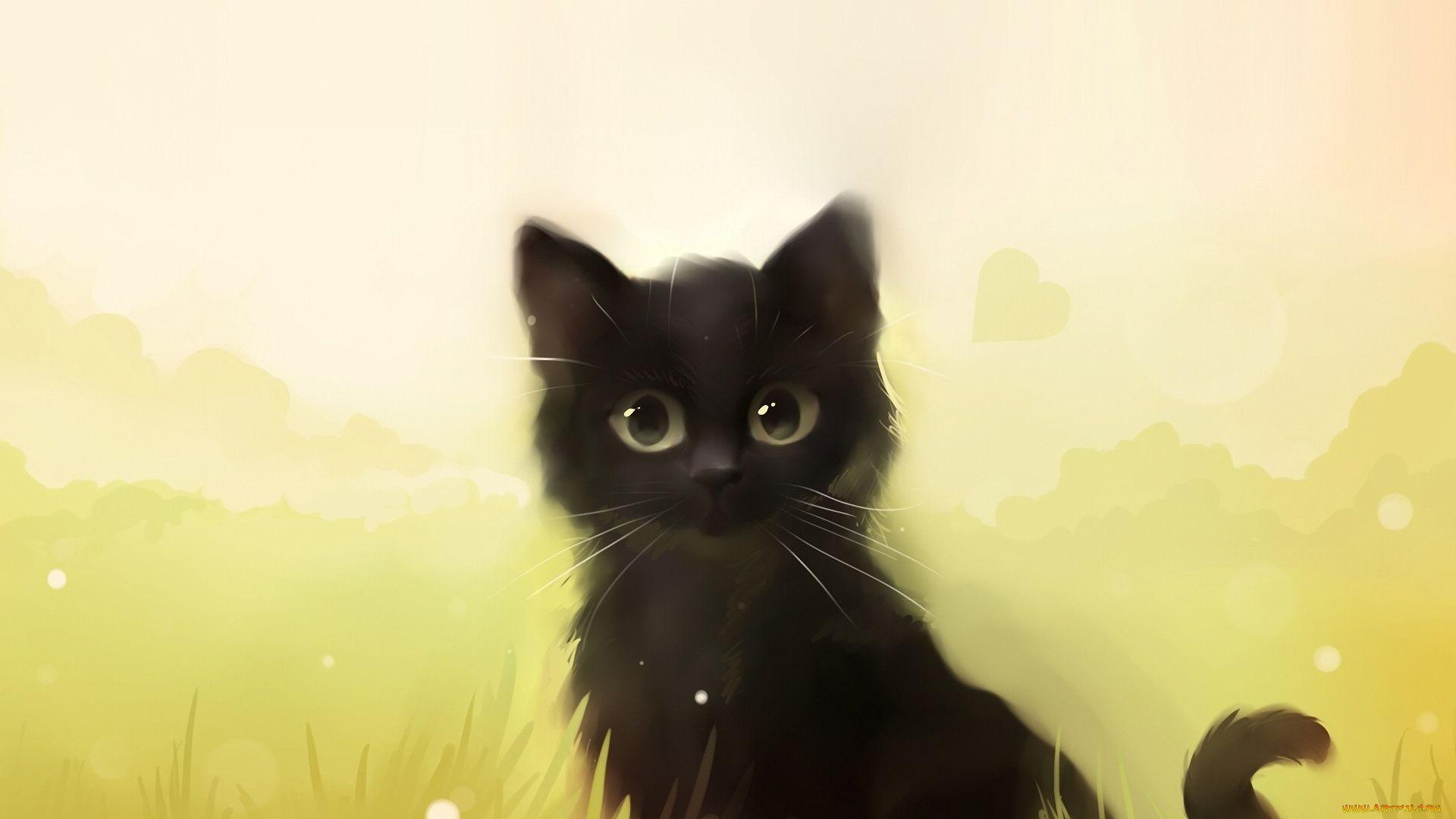 Drawing, Animals, Cats, Cat, Cat