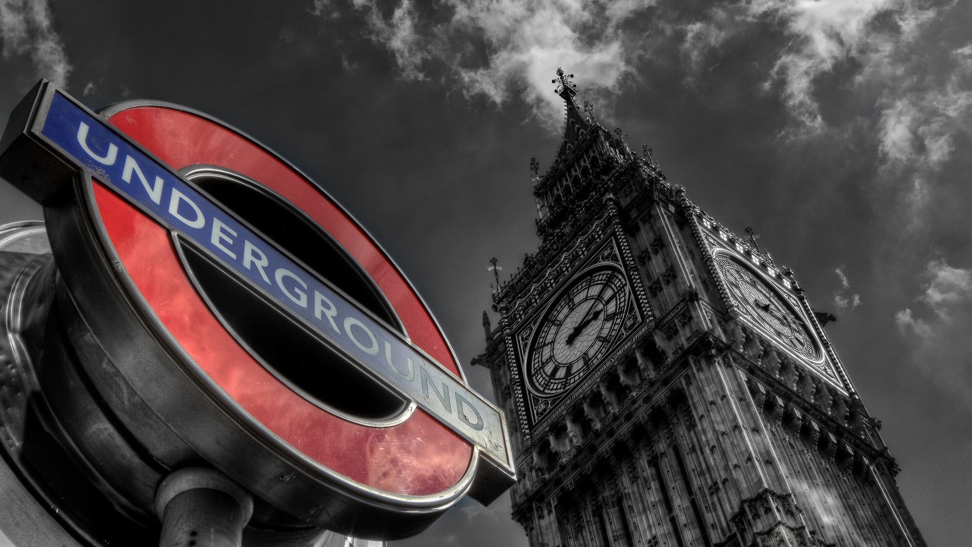 England, United Kindom, London, Big Ben, Big Ben, England, Underground