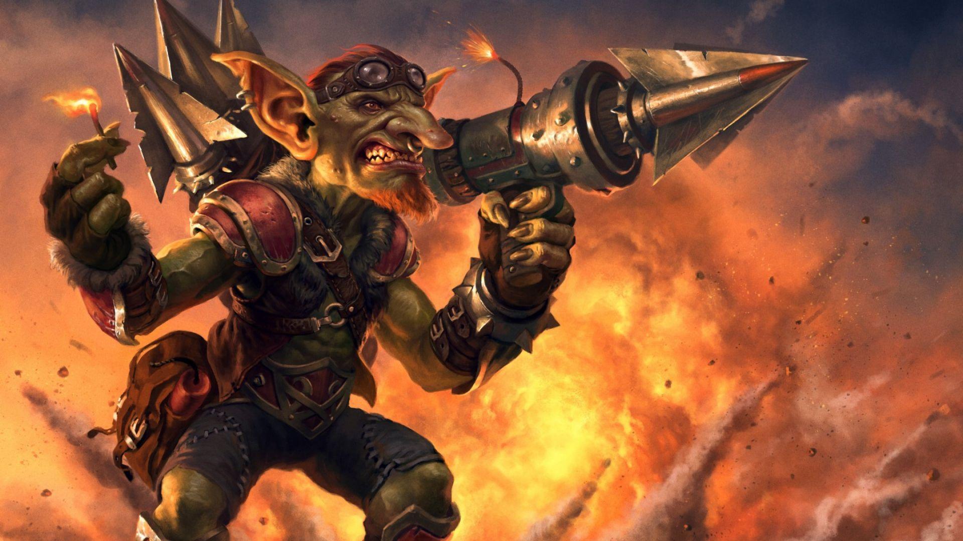 Hearthstone Goblins Vs Gnomes Goblin Hearthstone Heroes Of Warcraft Warcraf