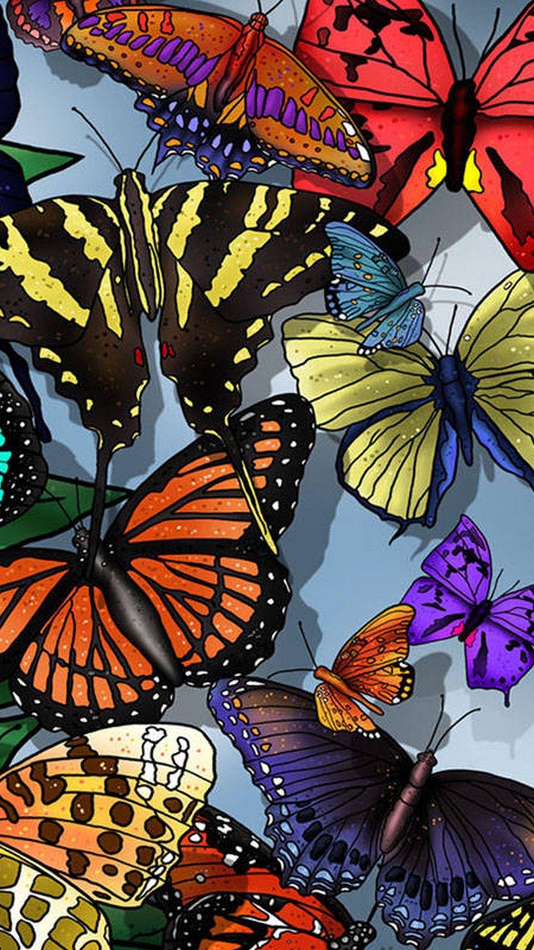 Iphone Wallpaper Butterfly