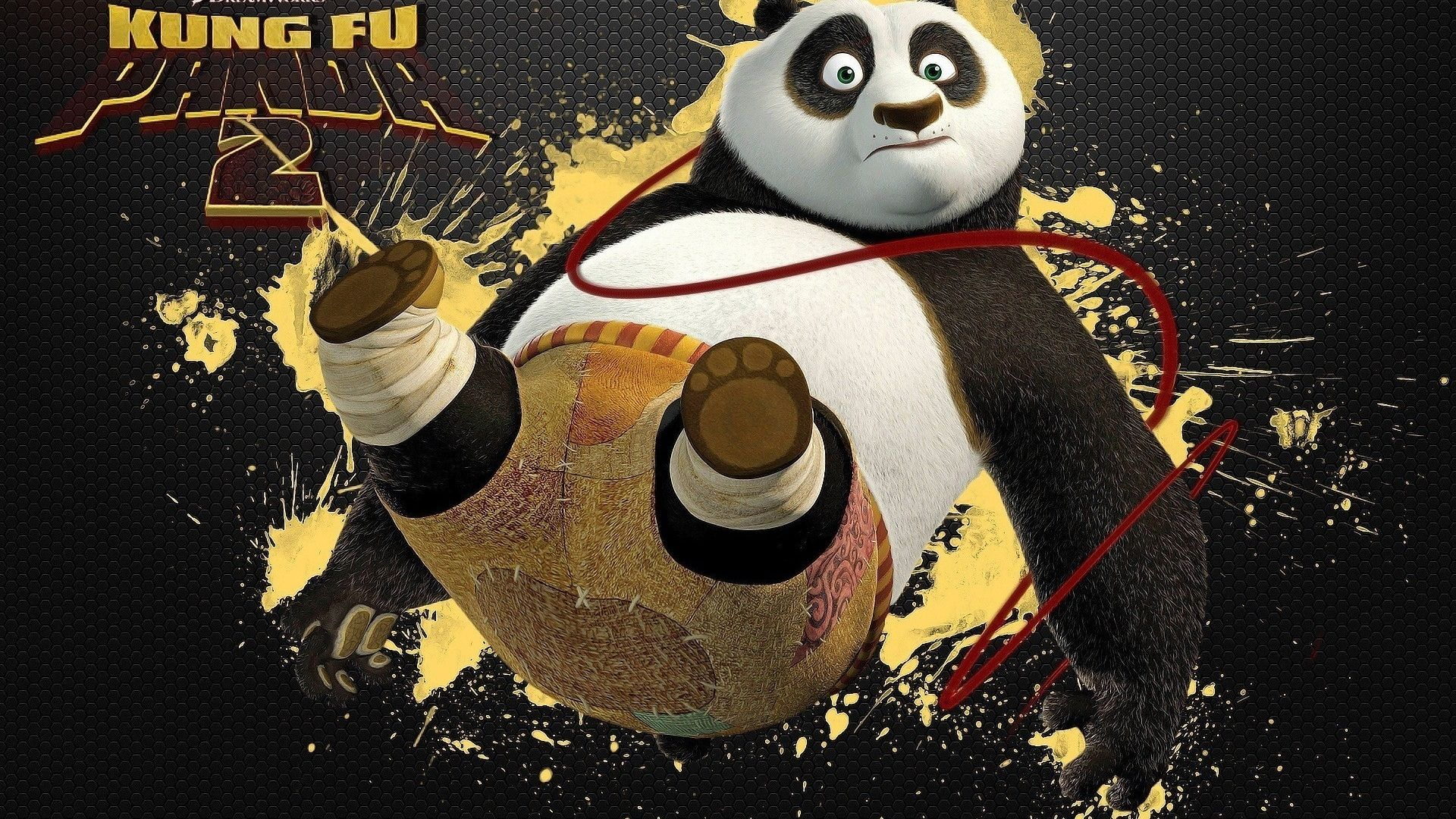 Kungfu Panda , Squirt, On, Cartoon, Kung Fu Panda Desktop