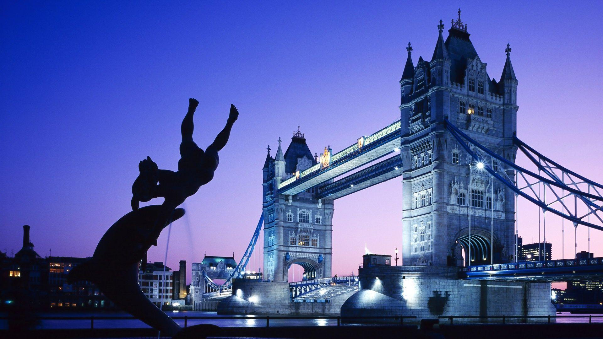 London Tower Bridge Uk Cityscape Wallpaper