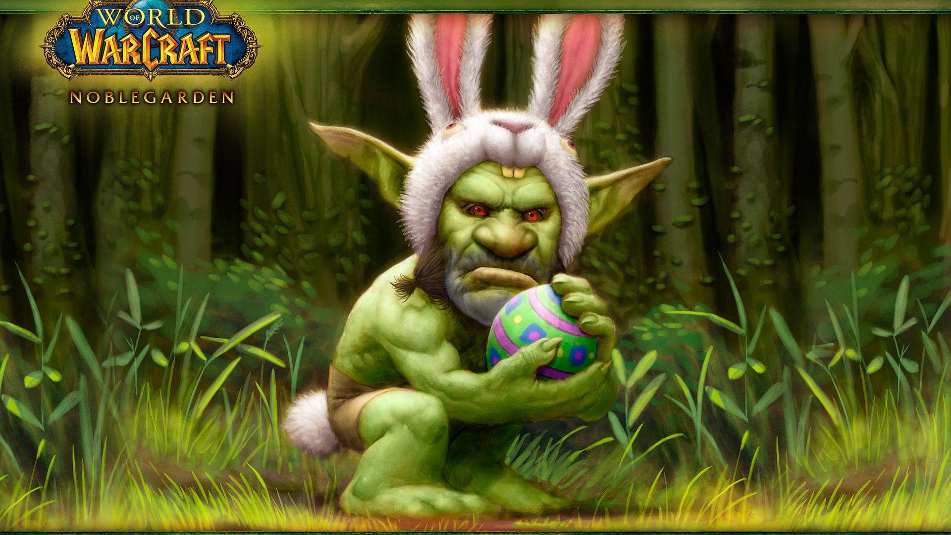 Rabbit, Egg, World Of Warcraft, Orc, Easter