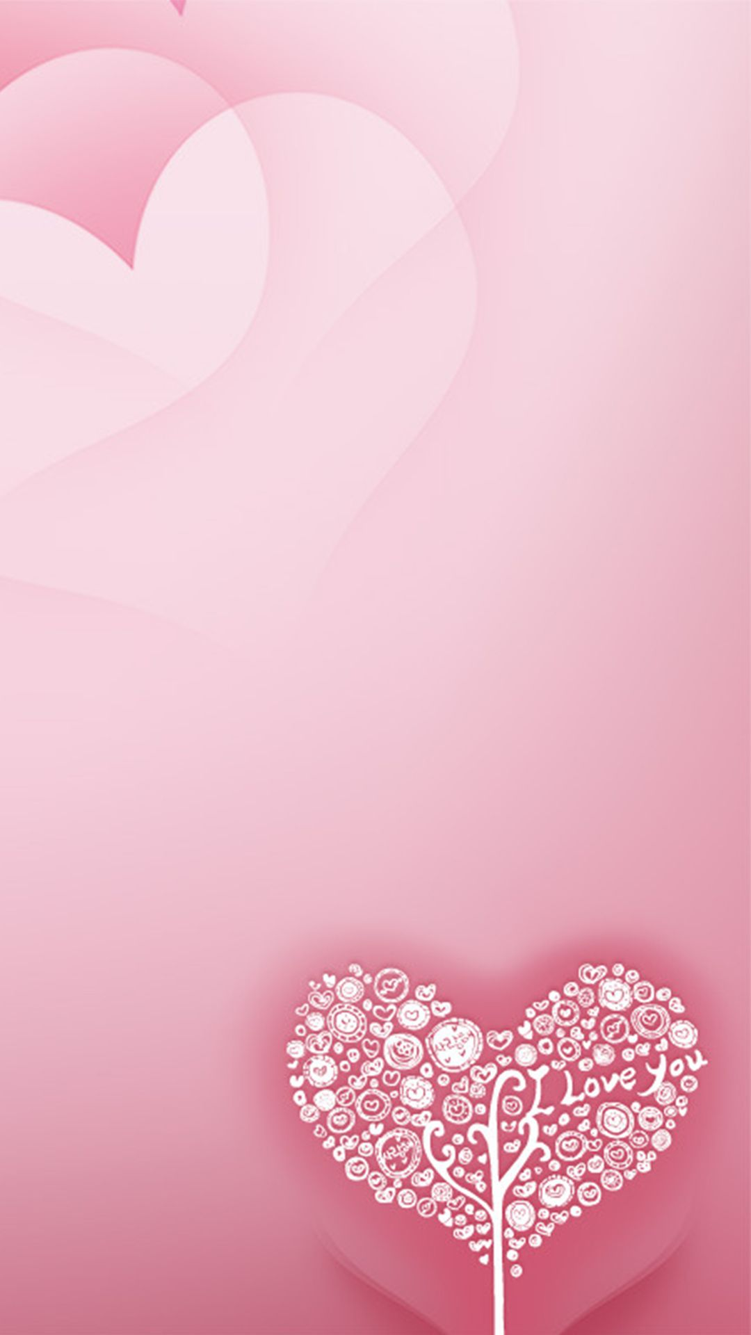 Romantic Love Card Romantic Background Love Pink, Backgrounds. Png