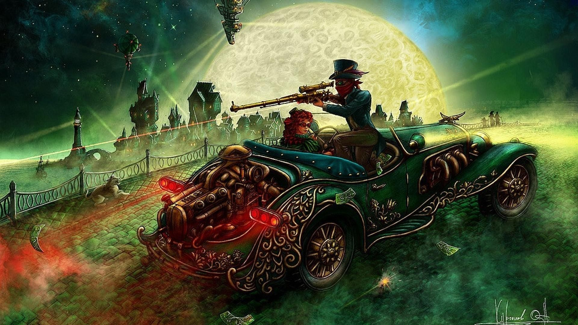 Steampunk, Old Wallpapers Hd Desktop And Mobile Backgrounds