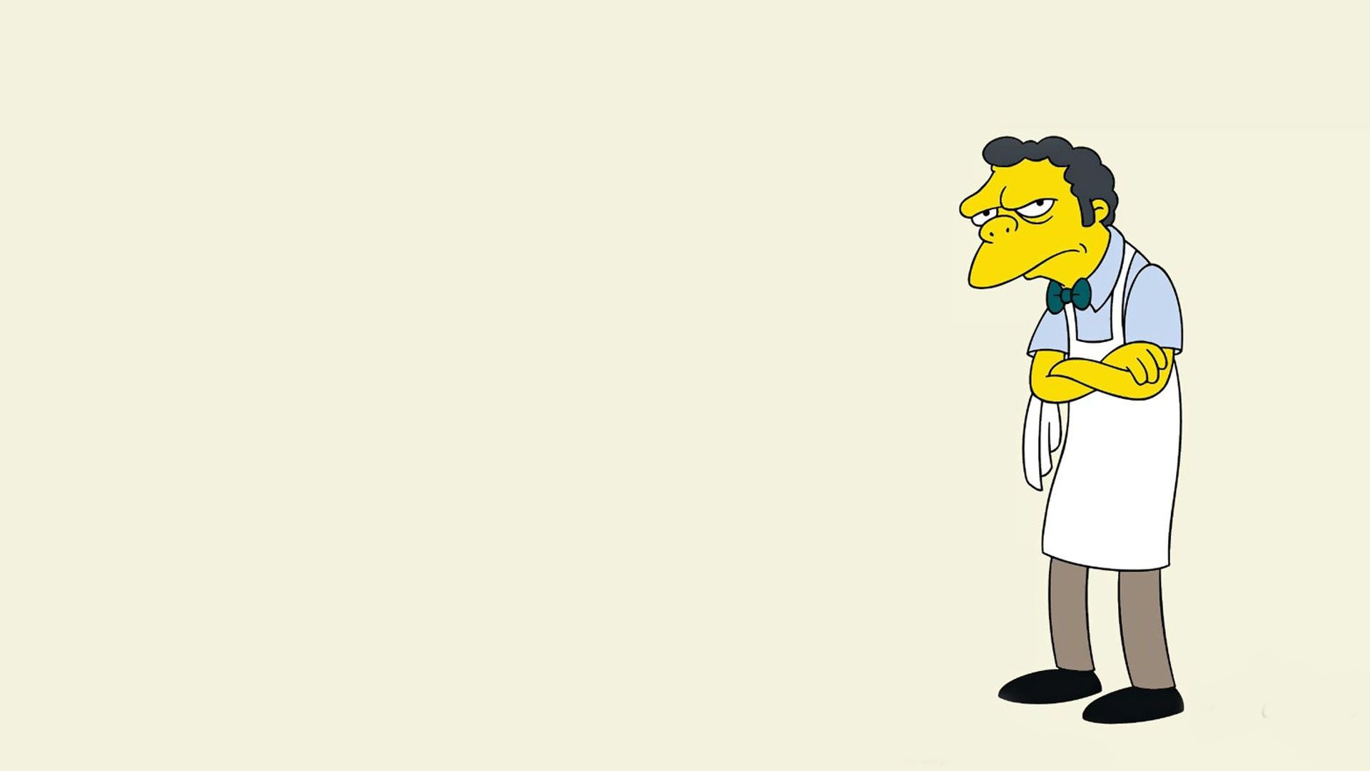 The simpsons Moe