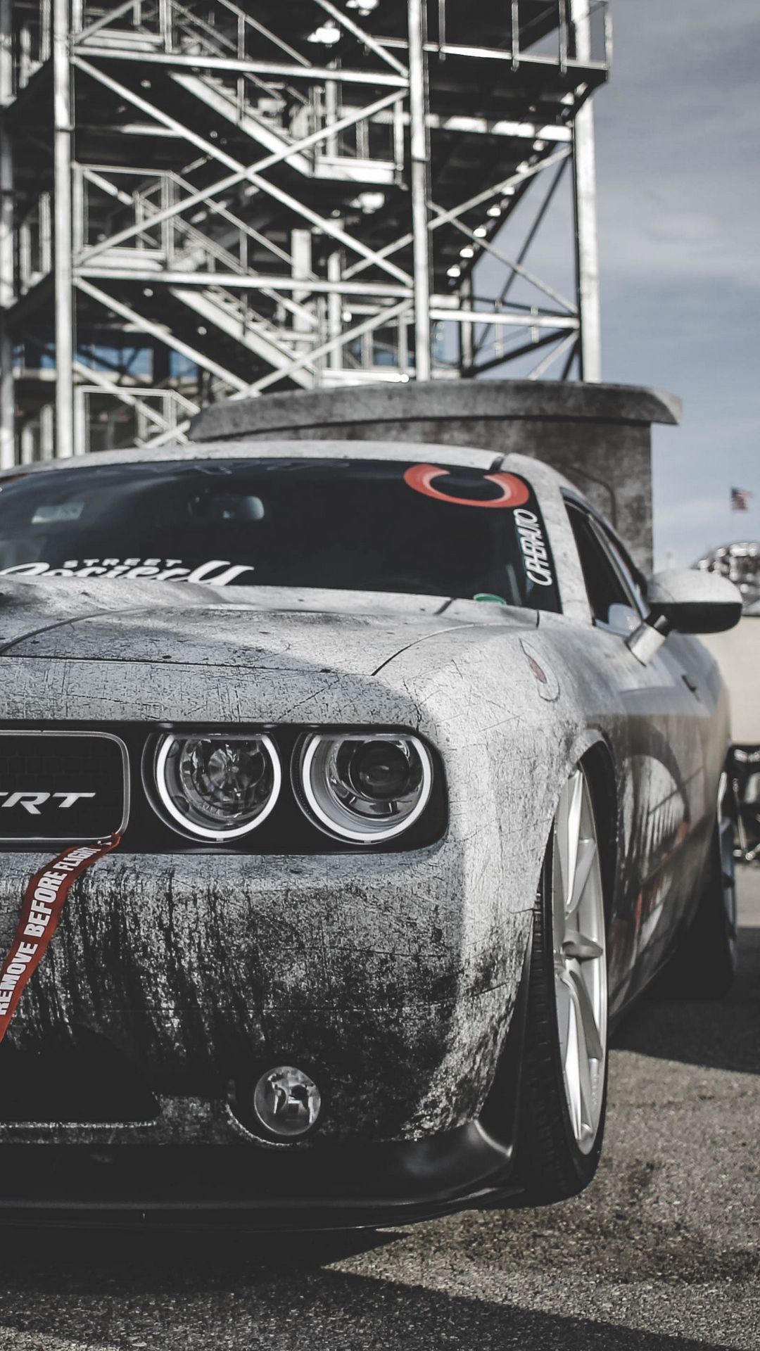 Wallpaper Dodge Challenger, Dodge, Sports Car, Race