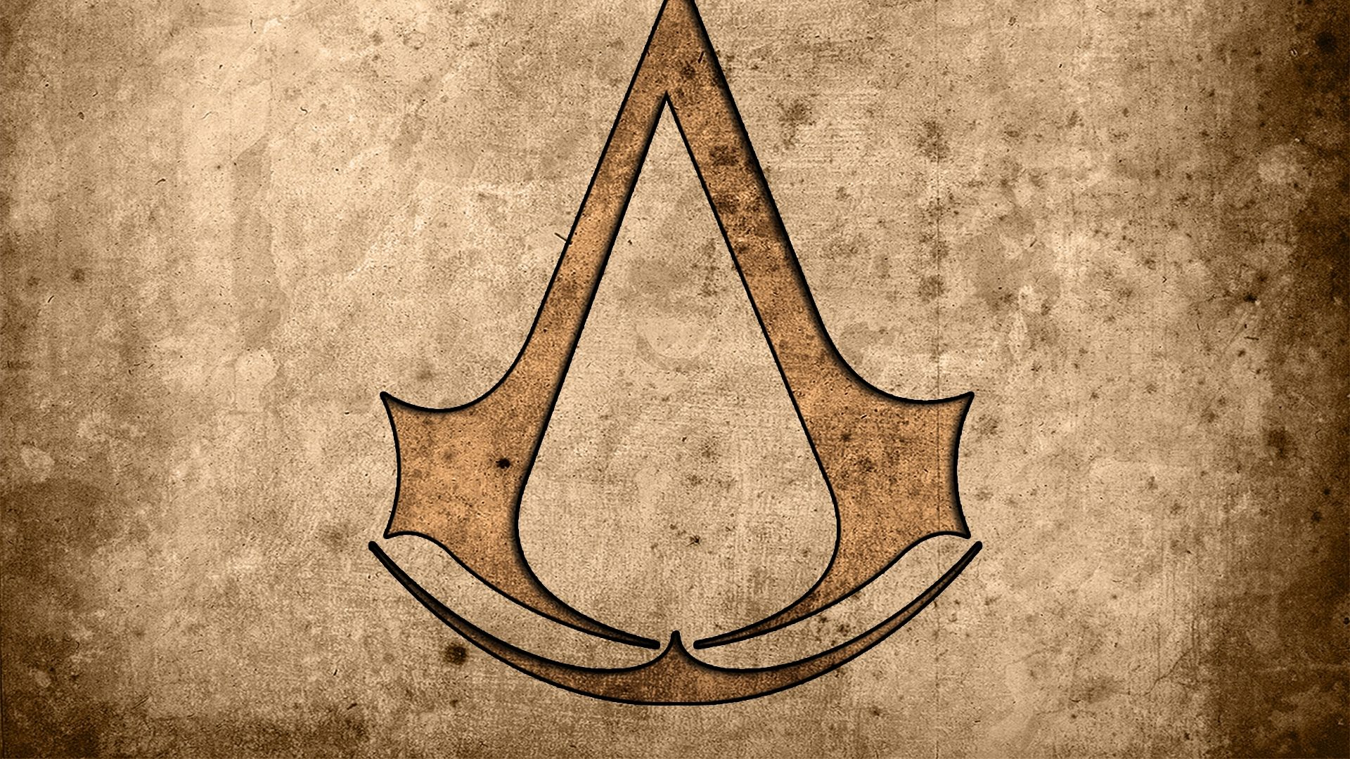 X Assassins Creed, Assassins Symbol, Background, Graphics, Wallpapers Full Hd, Hdt