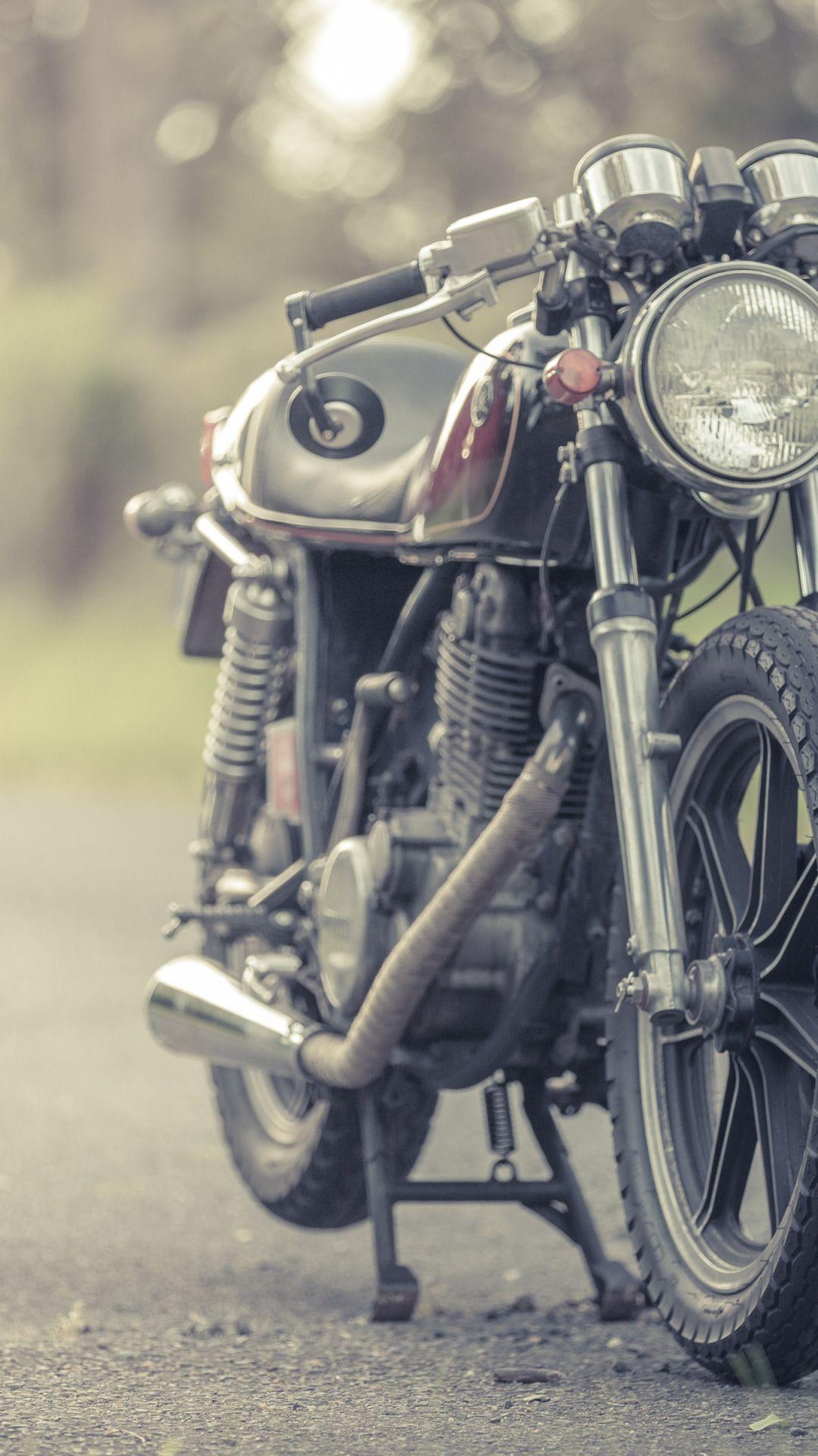 Yamaha, Vintage, Cafe Racer, Sr