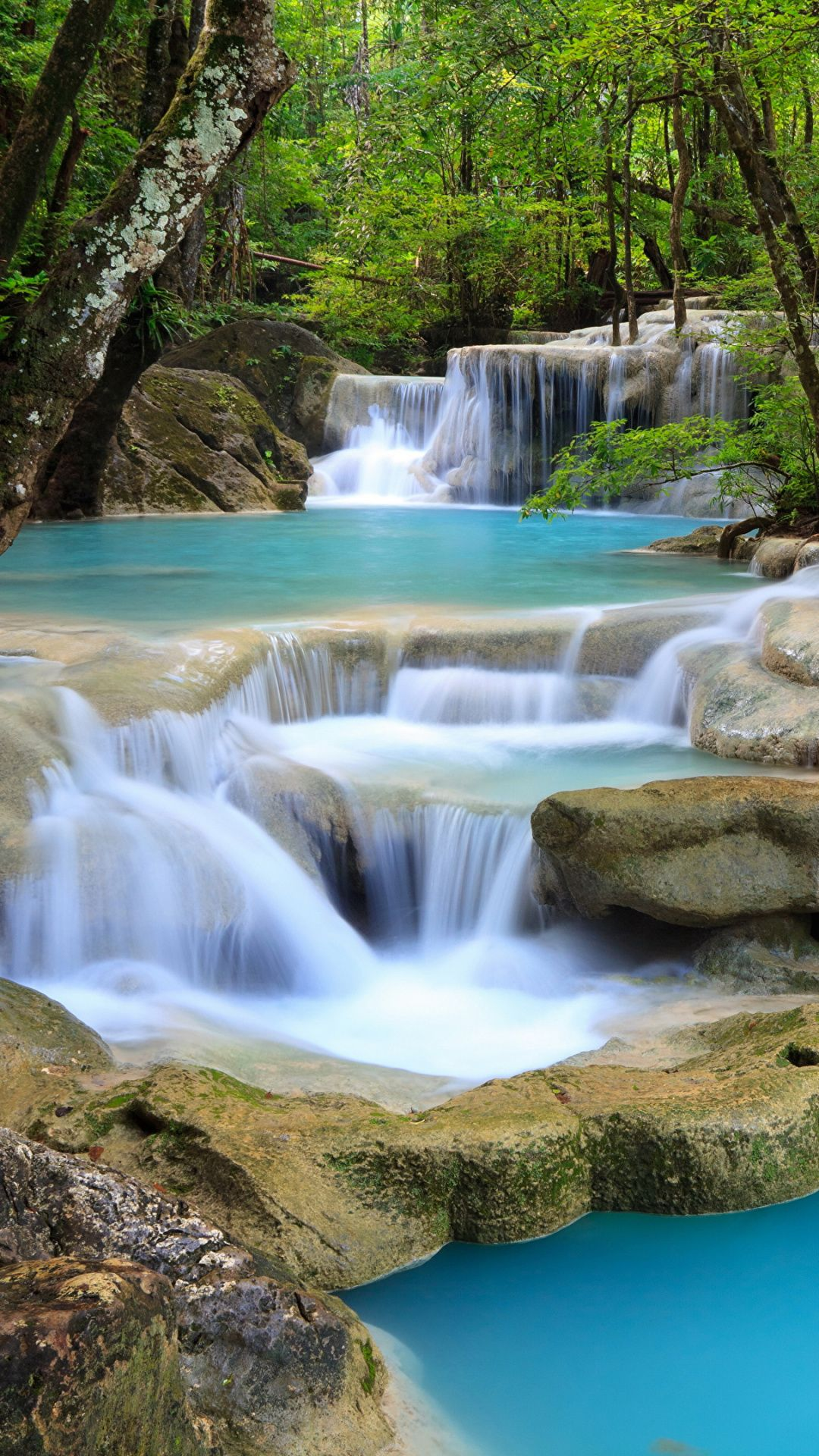 Zion National Park Erawan Waterfall Nature Reserve Water Resources