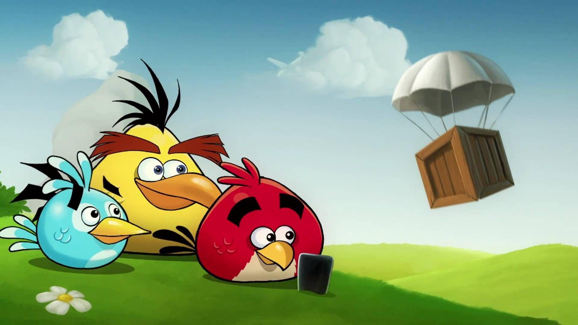 3 Birds Angry Birds