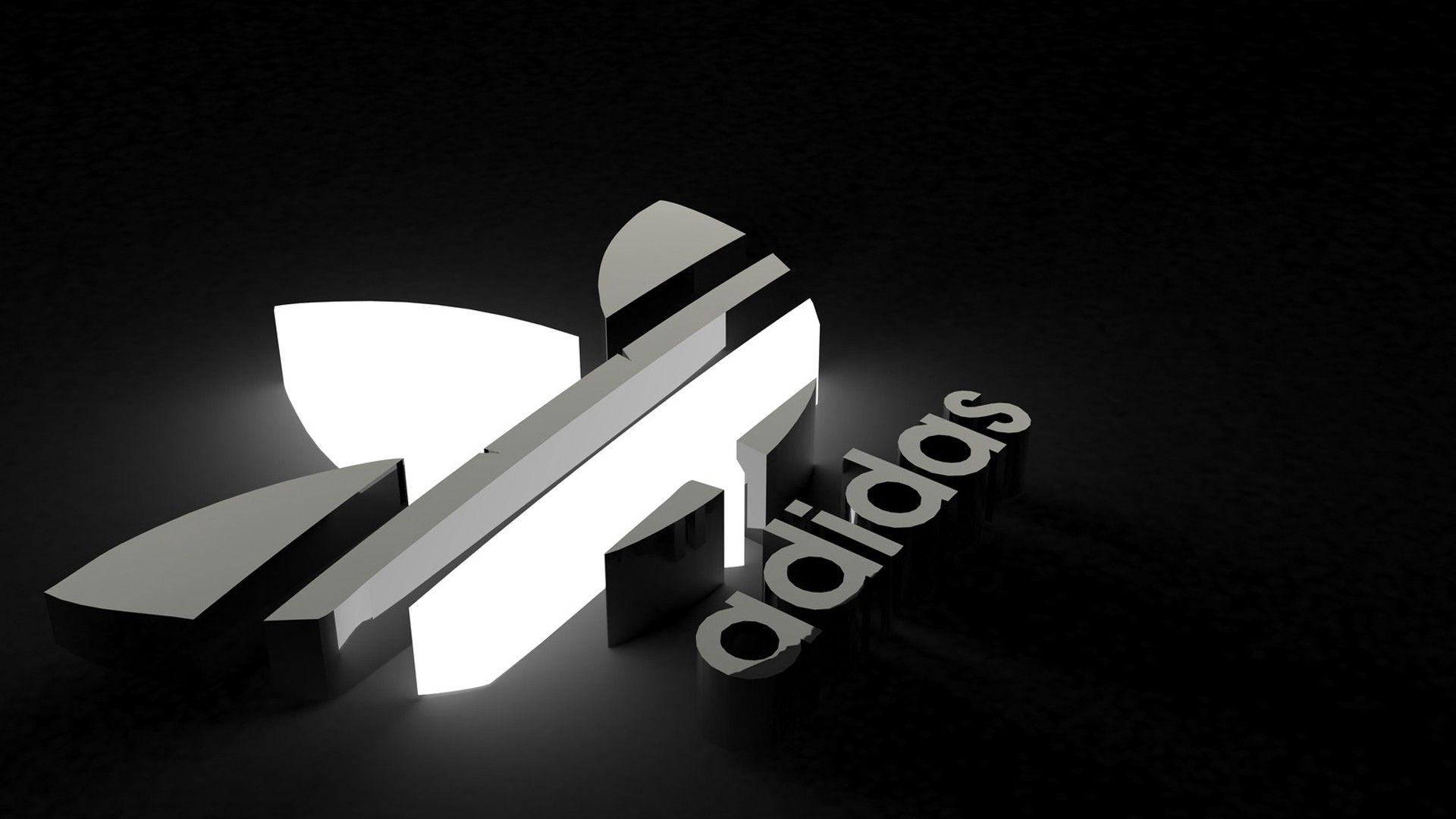 3 D Logo Adidas