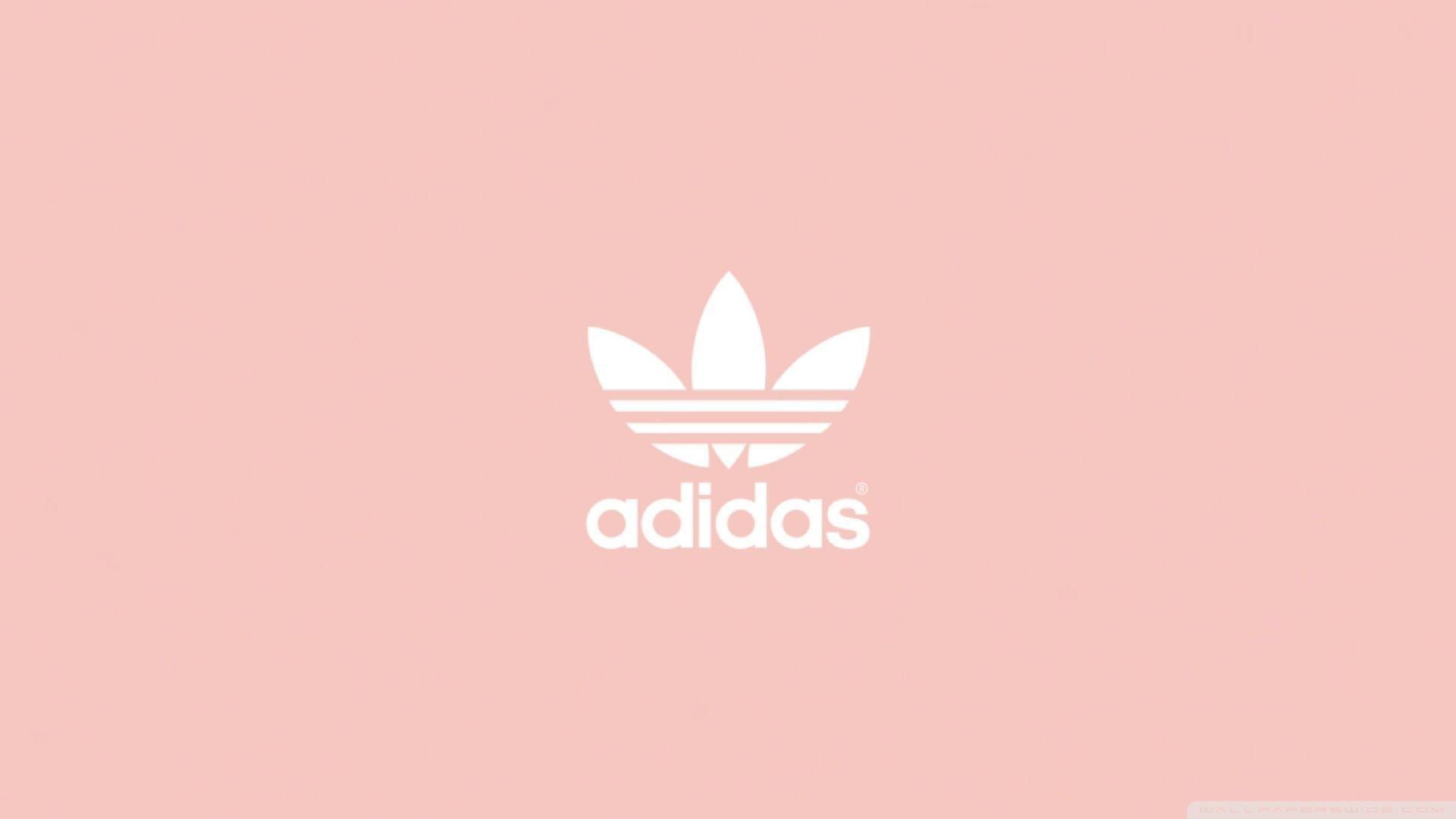 Adidas Logo Pink