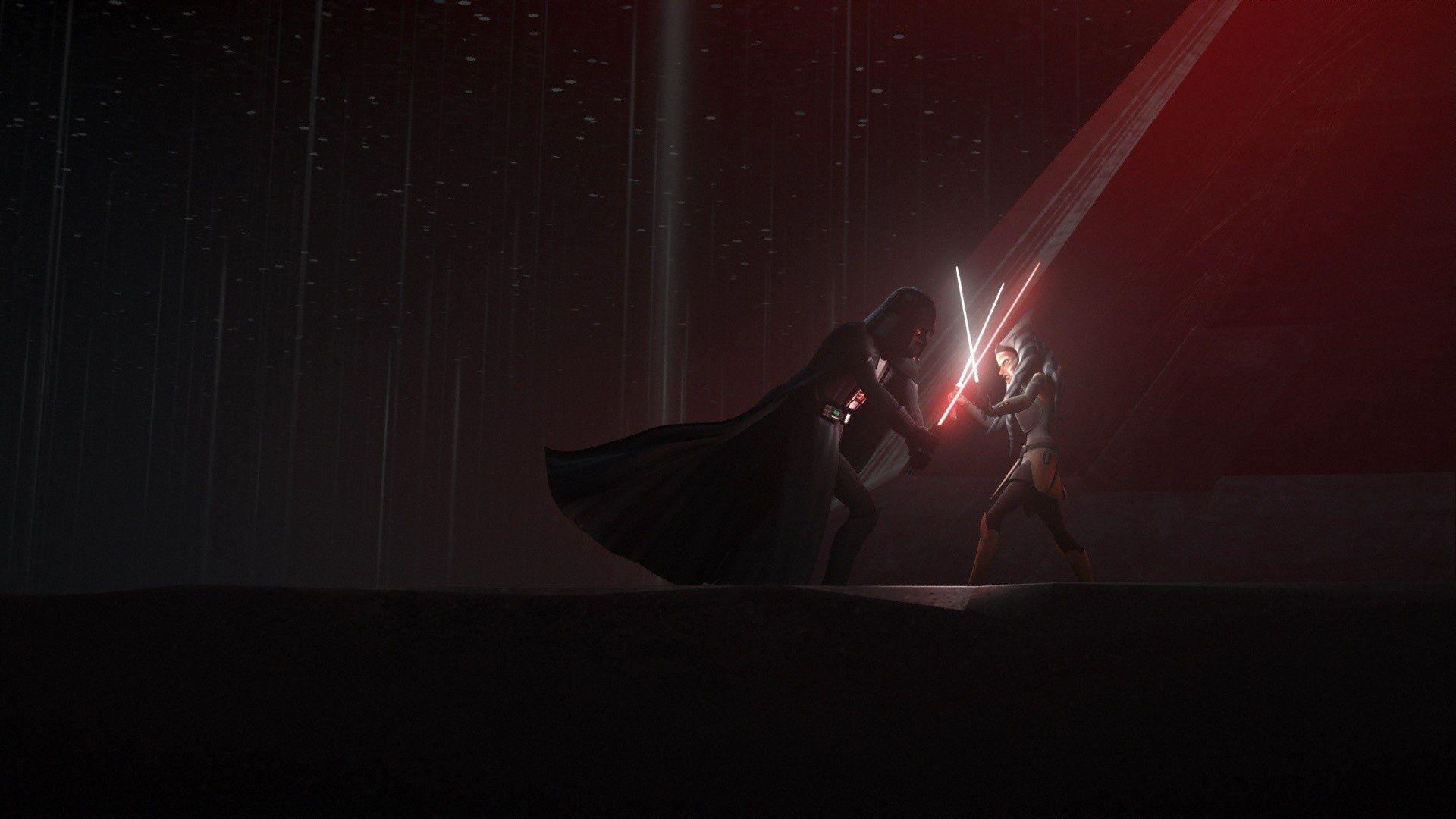 Ahsoka Tano And Vader