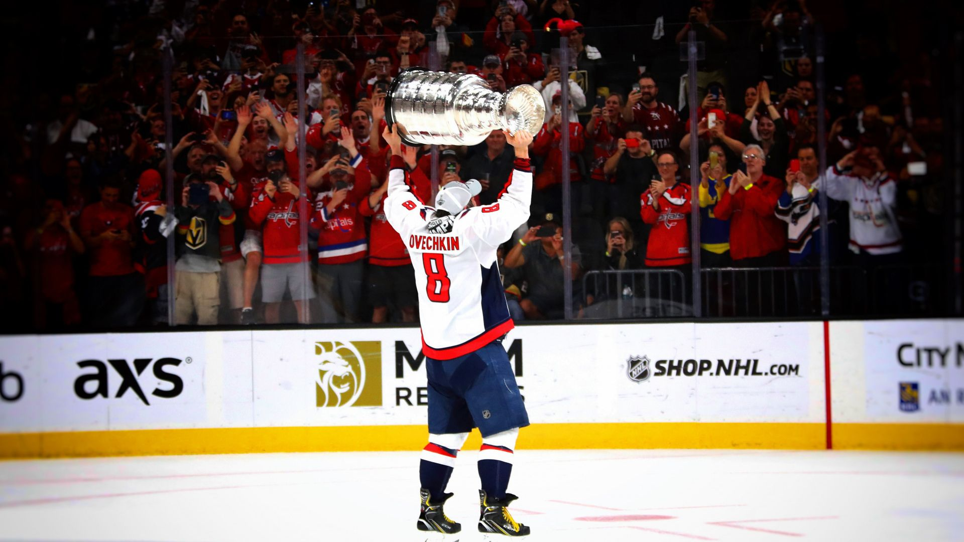 Alexander Ovechkin The Stanley Cup 2018