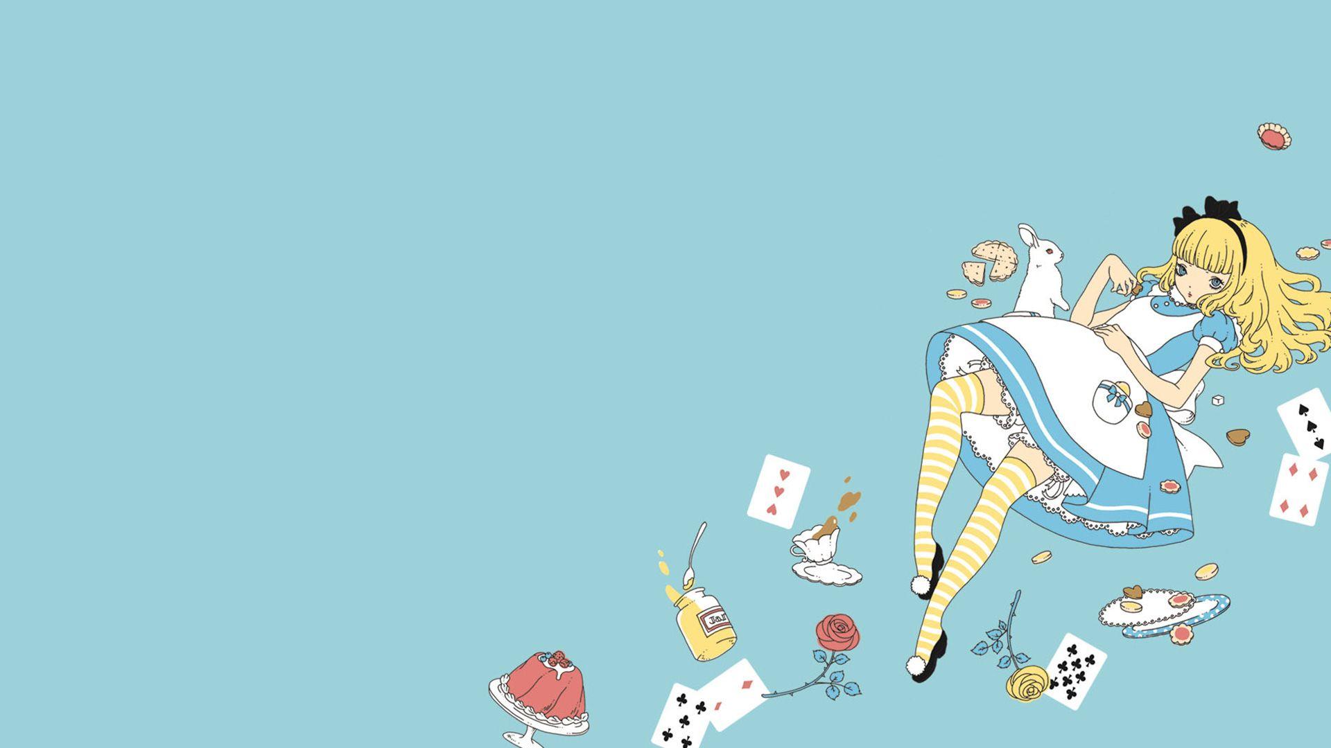 Alice In Wonderland Background 2