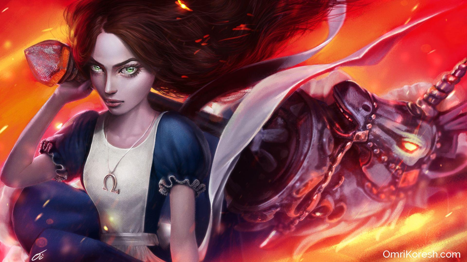 Alice Madness Return Art