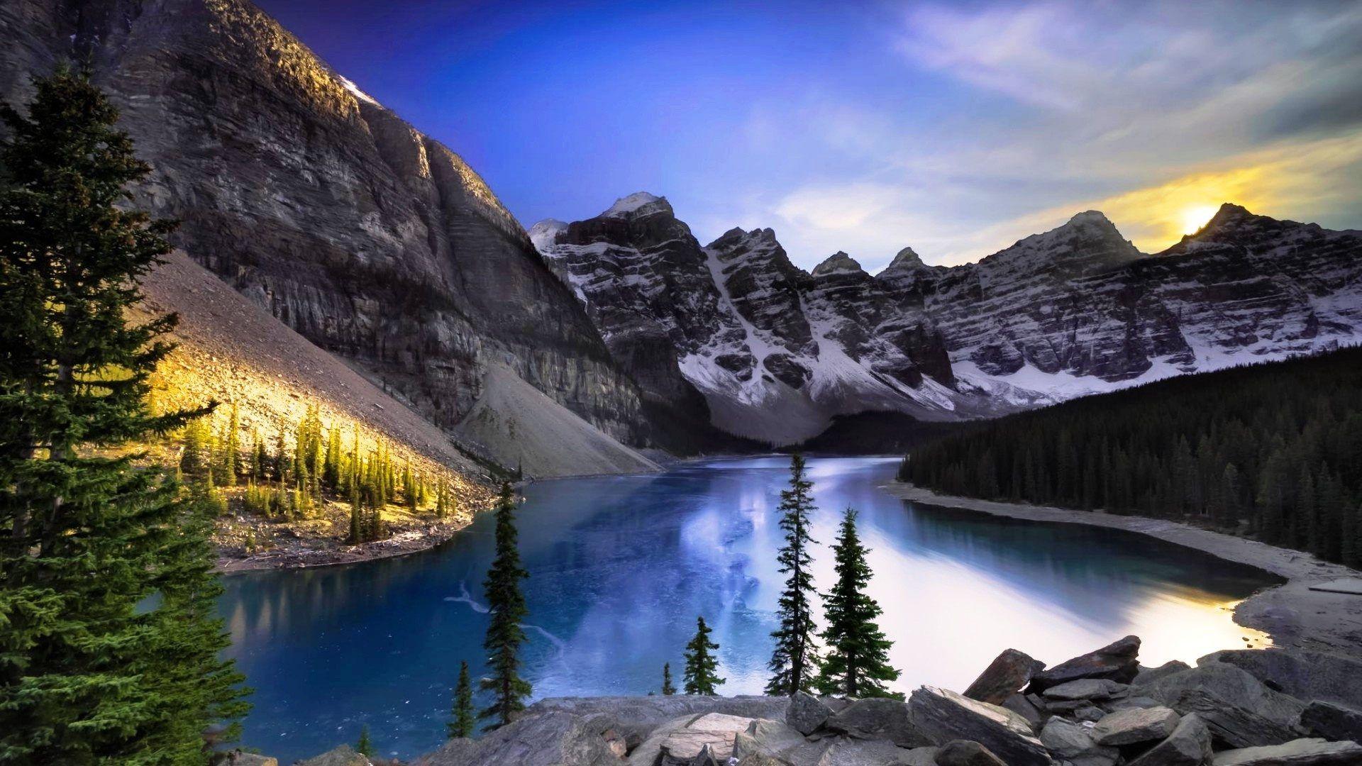 Banff National Park Scenery