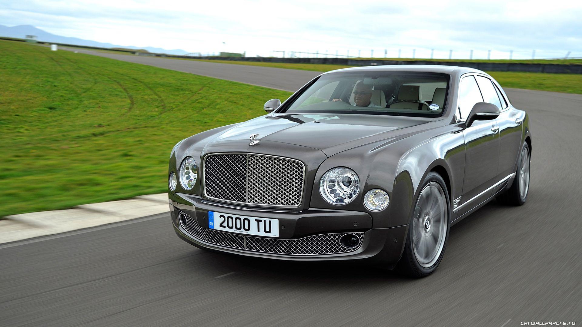 Bentley Mulsan 2012