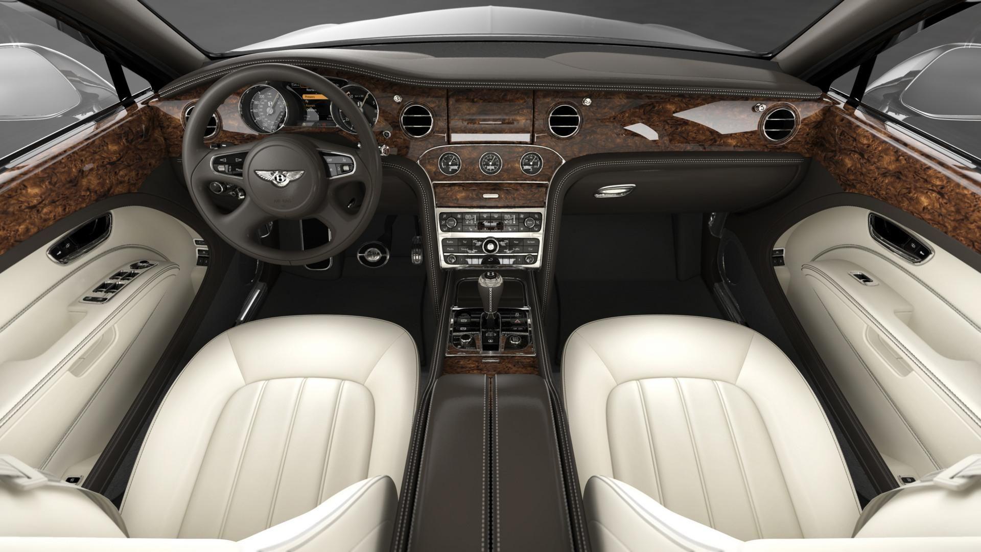 Bentley Mulsan Interior