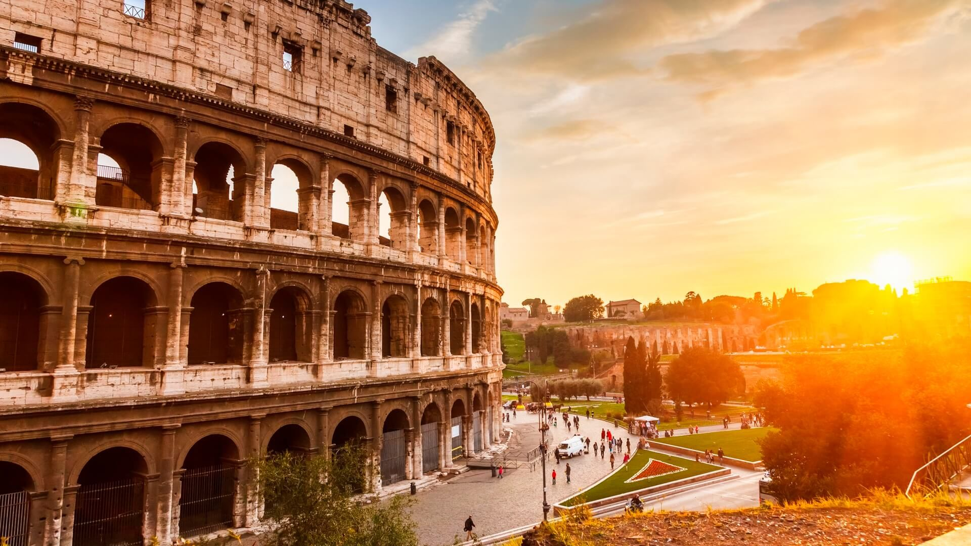 Colosseum Background