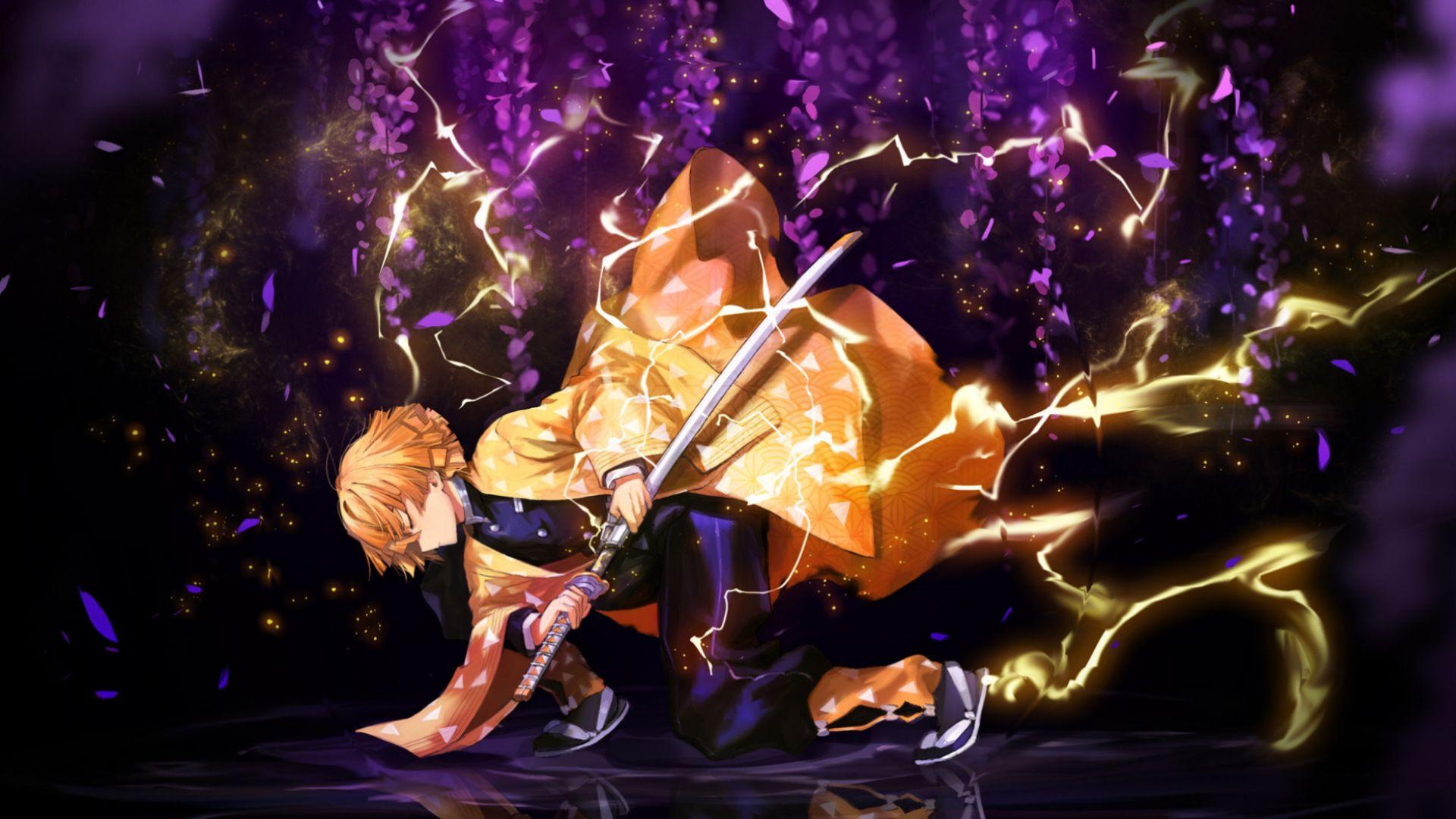 Demon Slayer Kimetsu No Yaiba Zenitsu Agatsuma