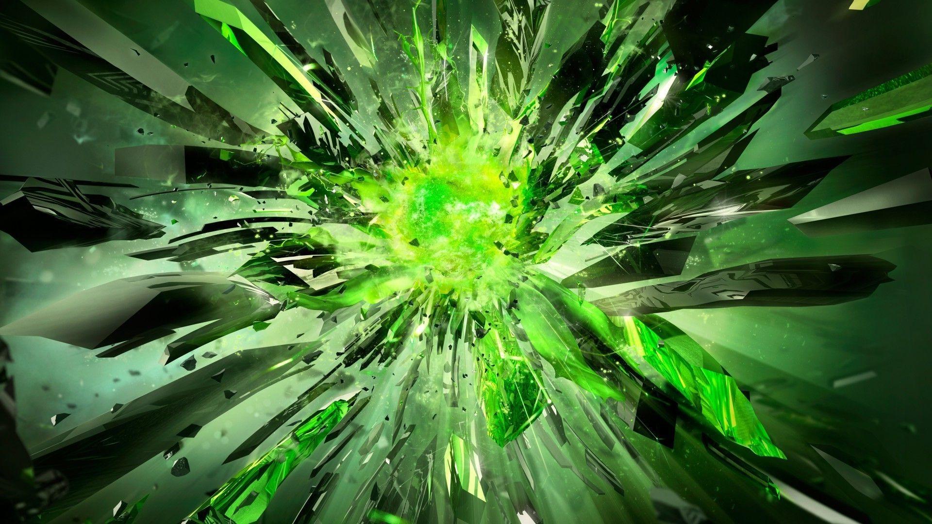 Desk Green Nvidia