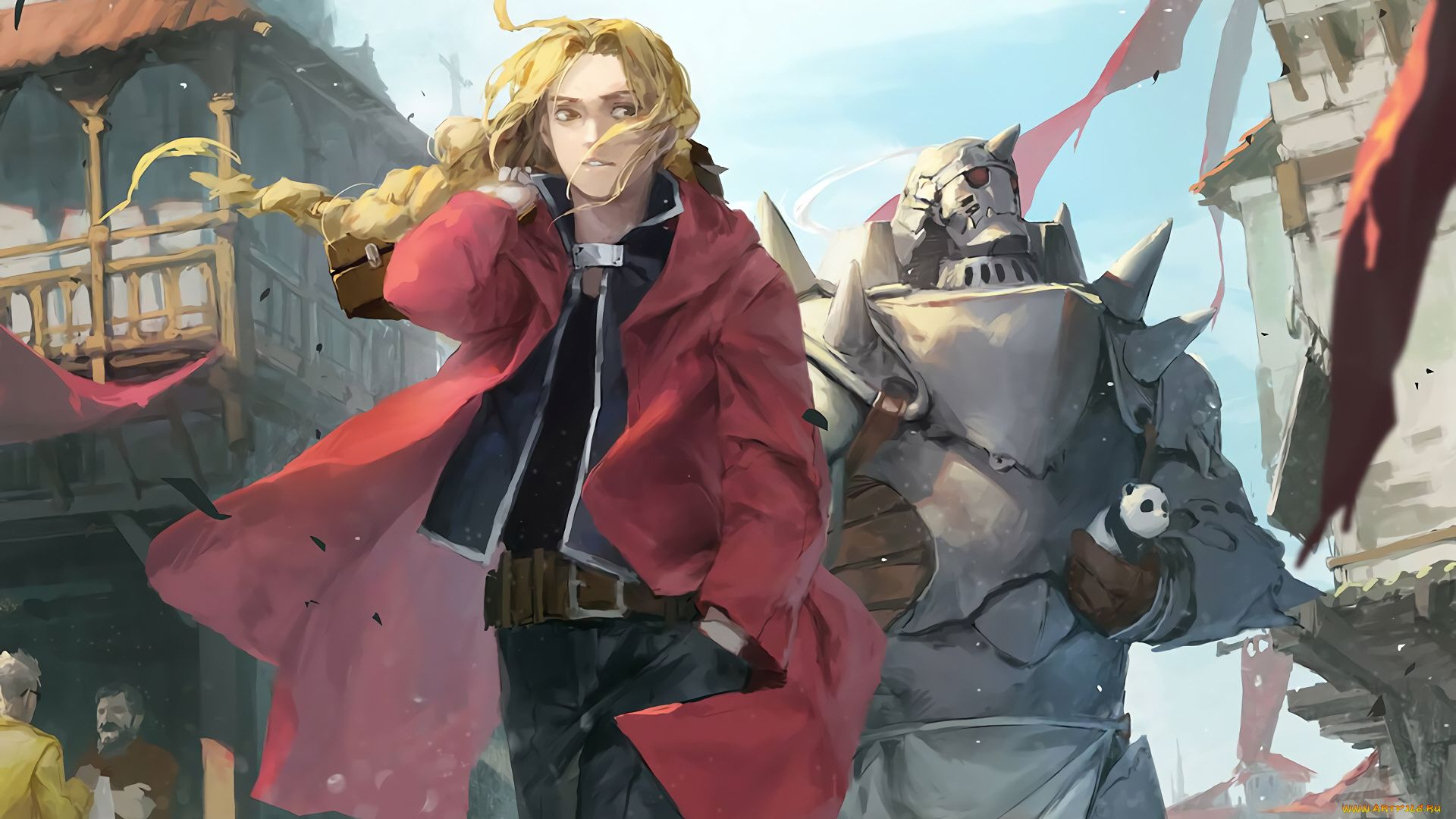 Edward Elric Art Wallpaper