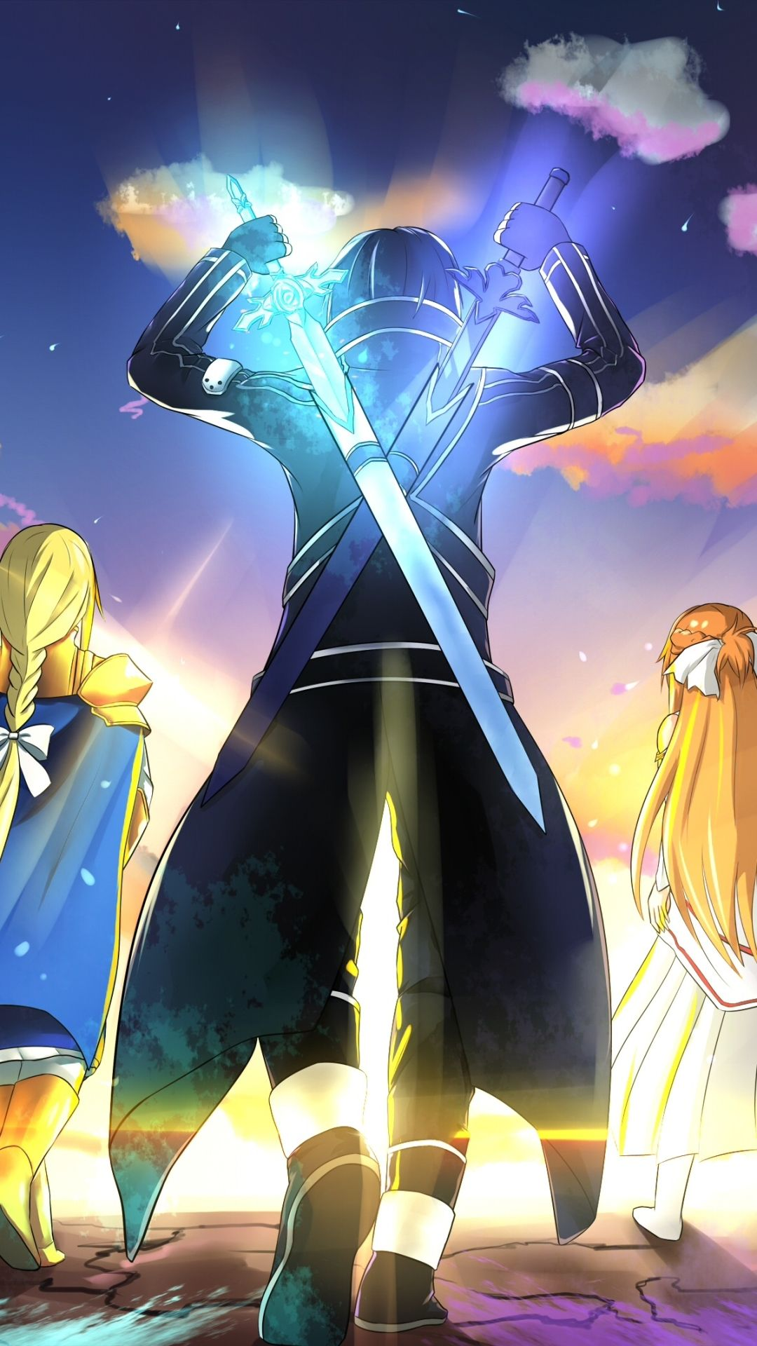 17 Sword Art Online Alicization Iphone Wallpapers Wallpaperboat