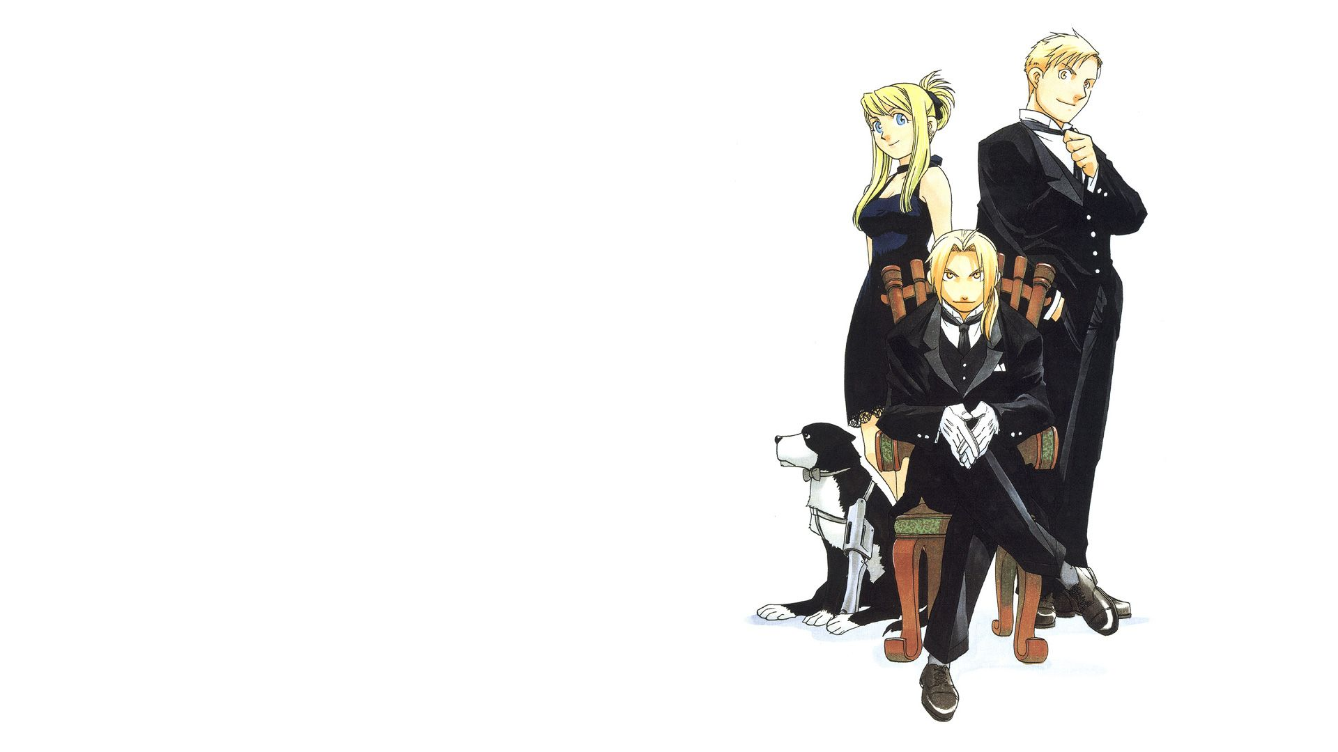 Fullmetal Alchemist Wallpaper Edward And Winry