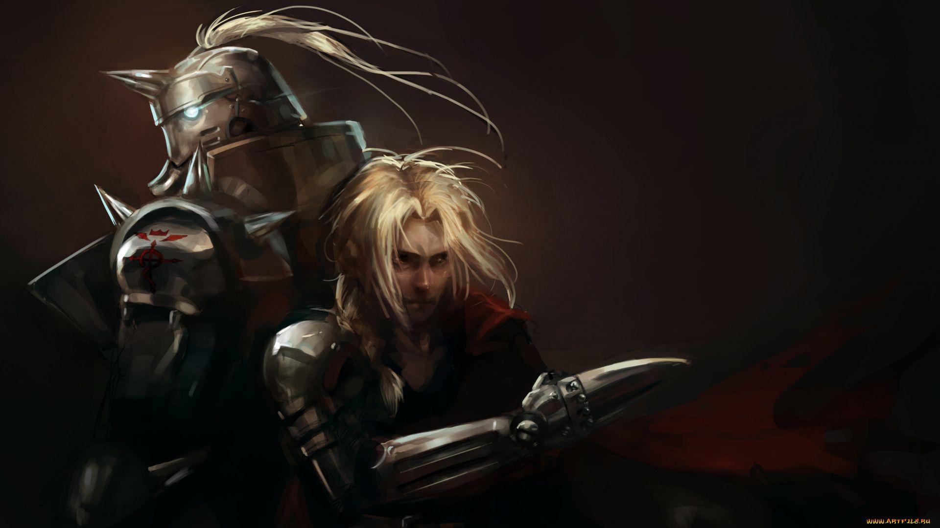 Fullmetal Alchemist Art Brothers