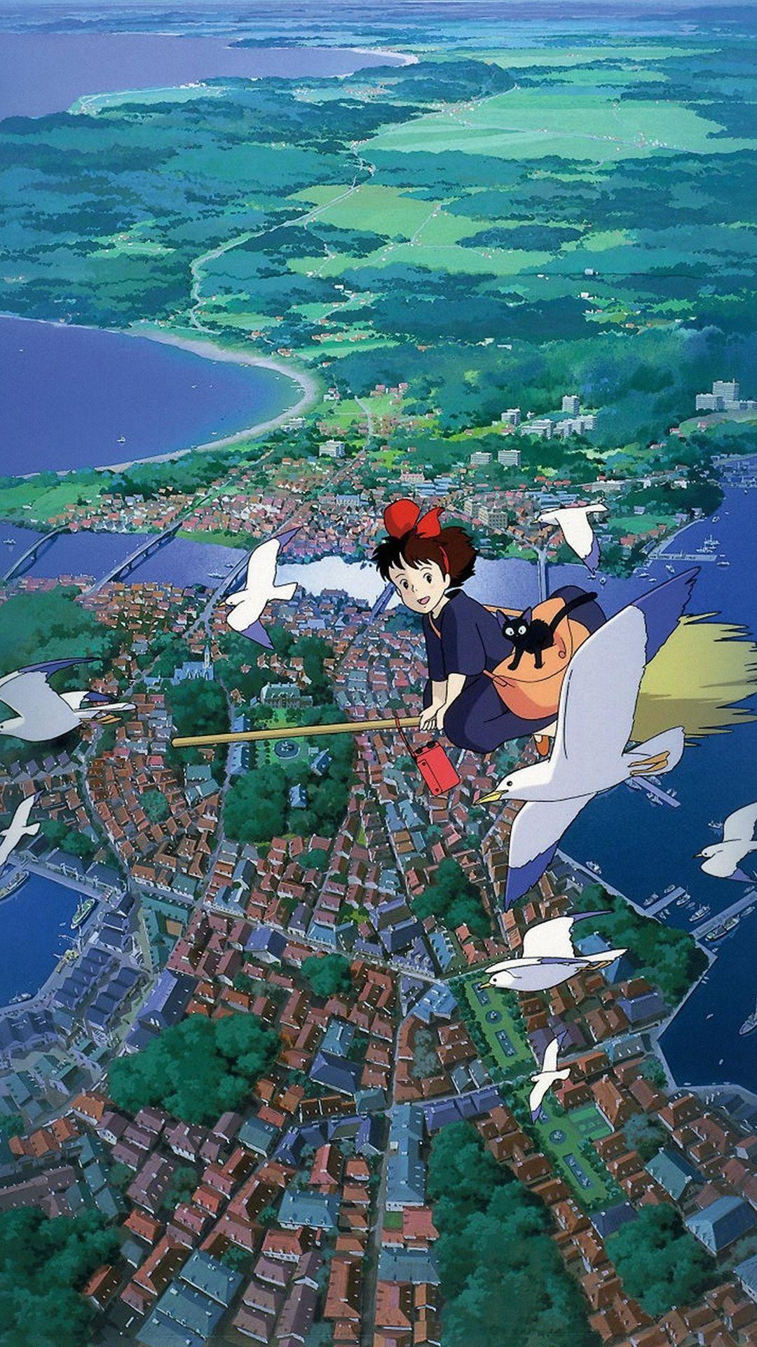 Hayao Miyazaki Kikis Service