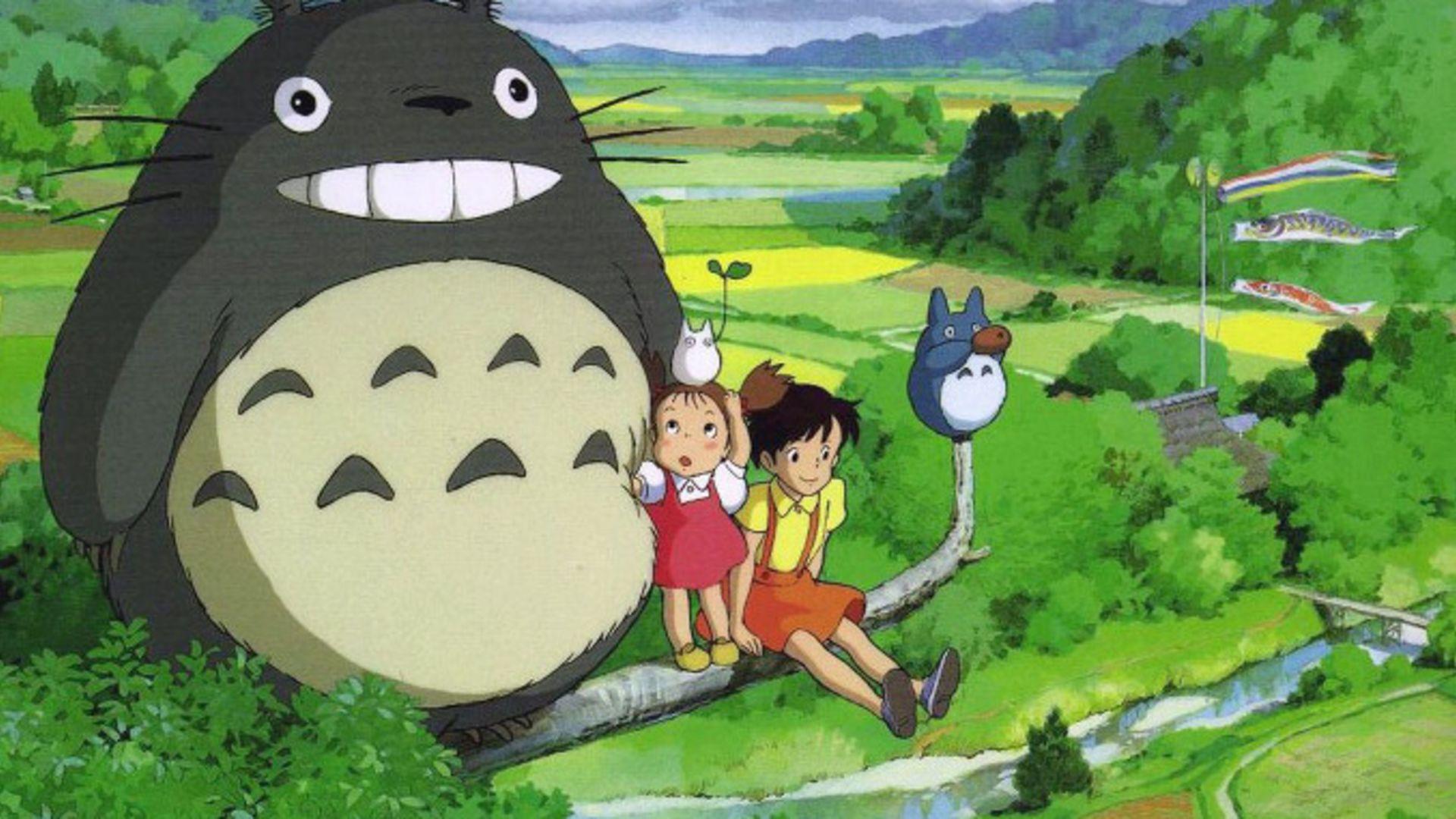 Hayao Miyazaki Totoro