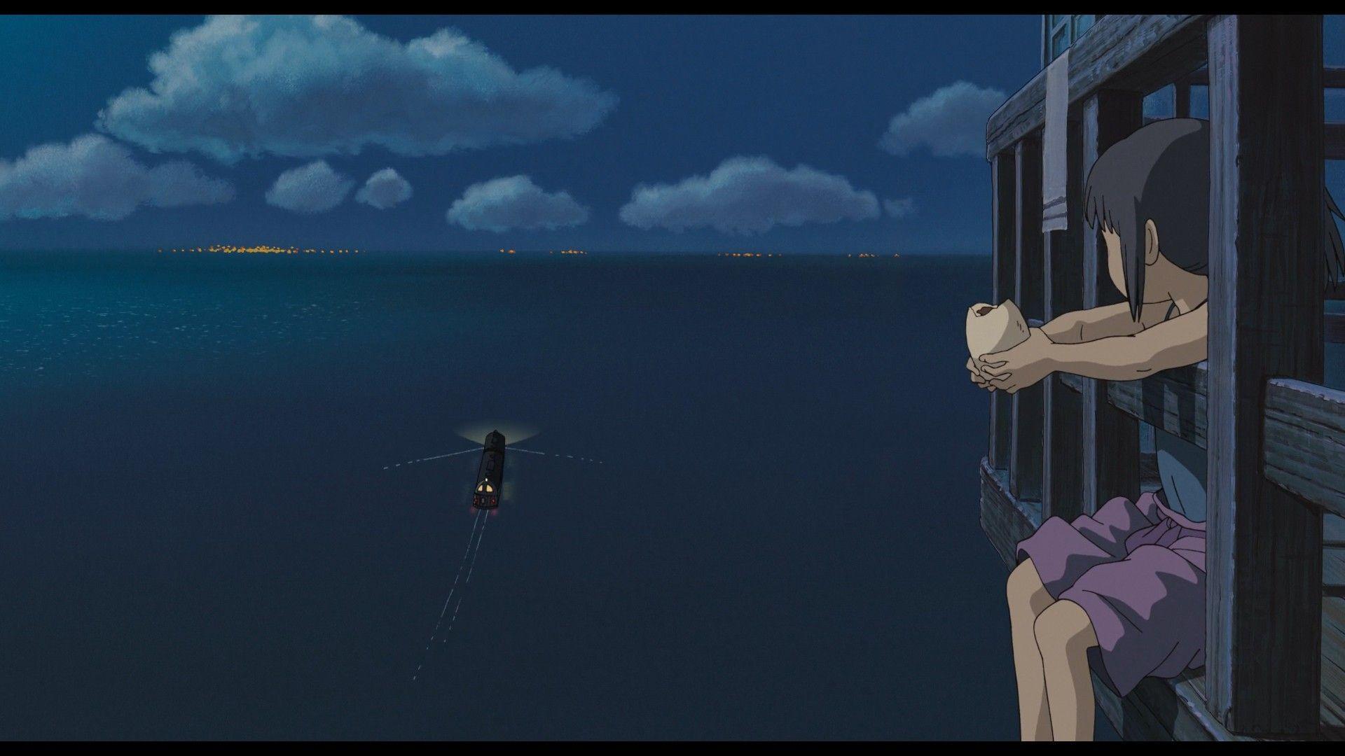 Hayao Miyazaki Spirited Away Train