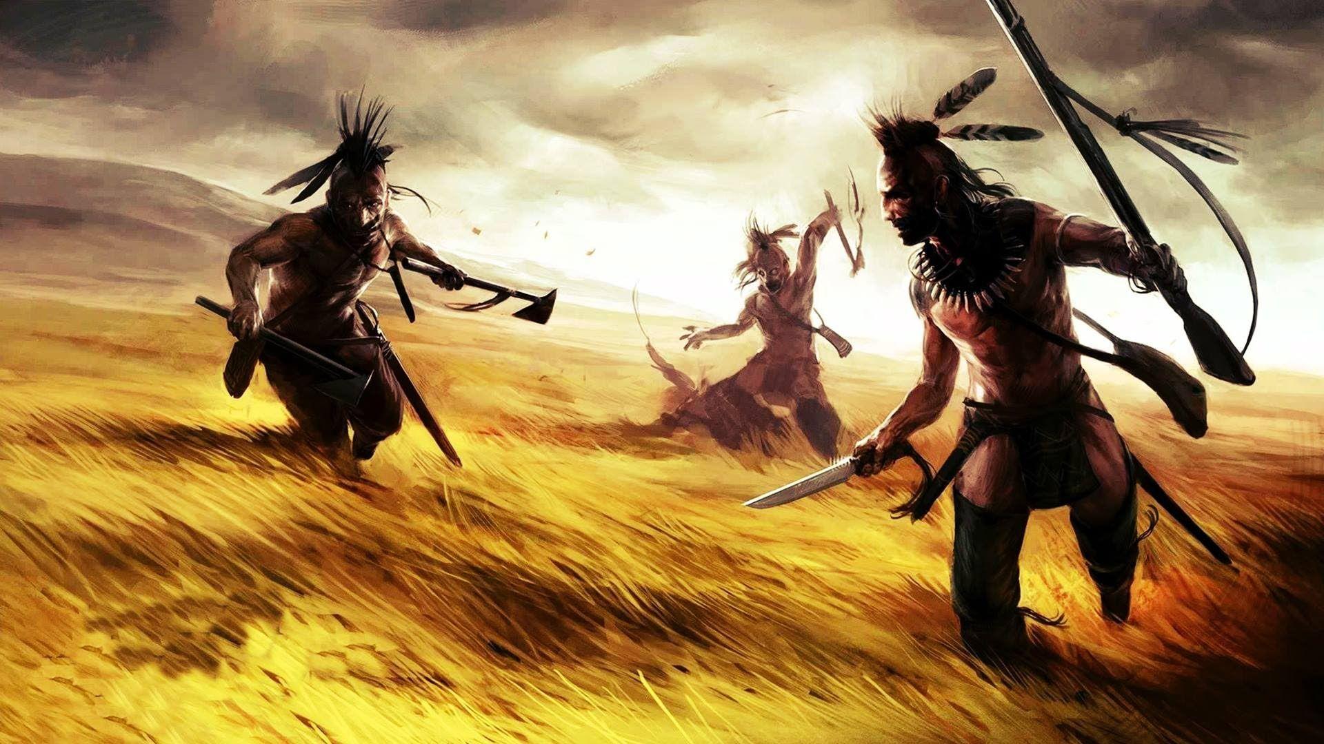 Indian Warrior Art